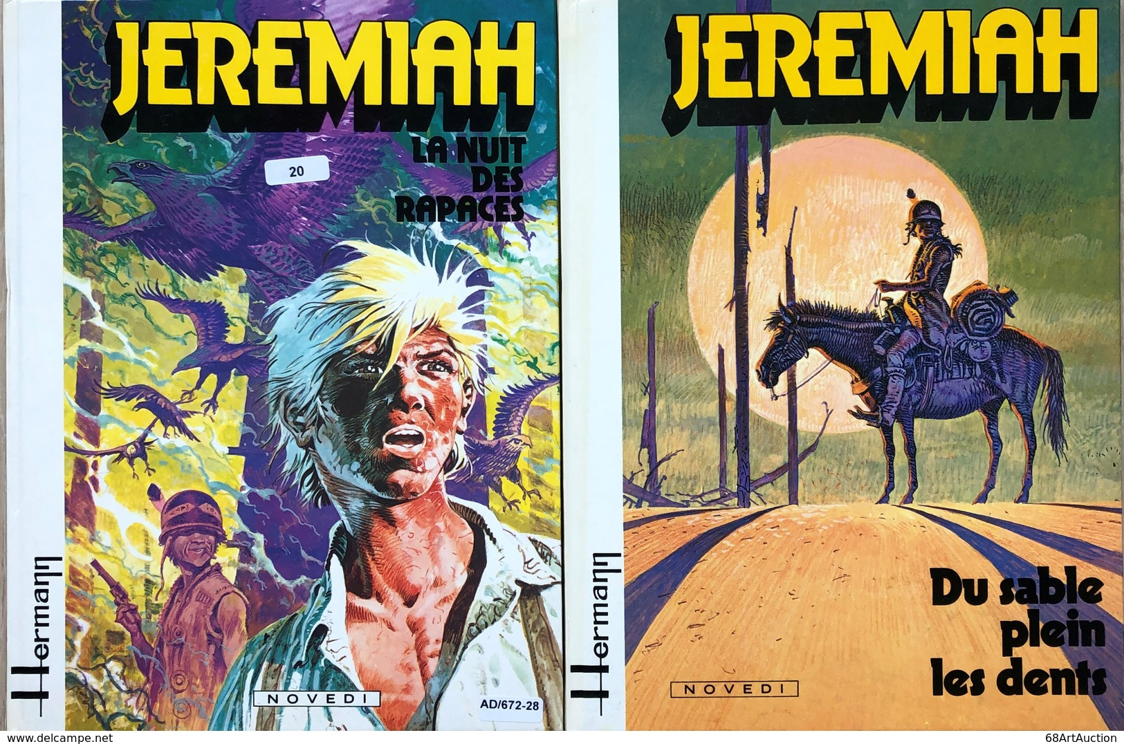 Hermann/Jeremiah.  Les 19 Premiers Tomes édition Anciennes Des Années 80 Et 90.  EO Apd Tome 5.  TBE+ - Libros, Revistas, Cómics