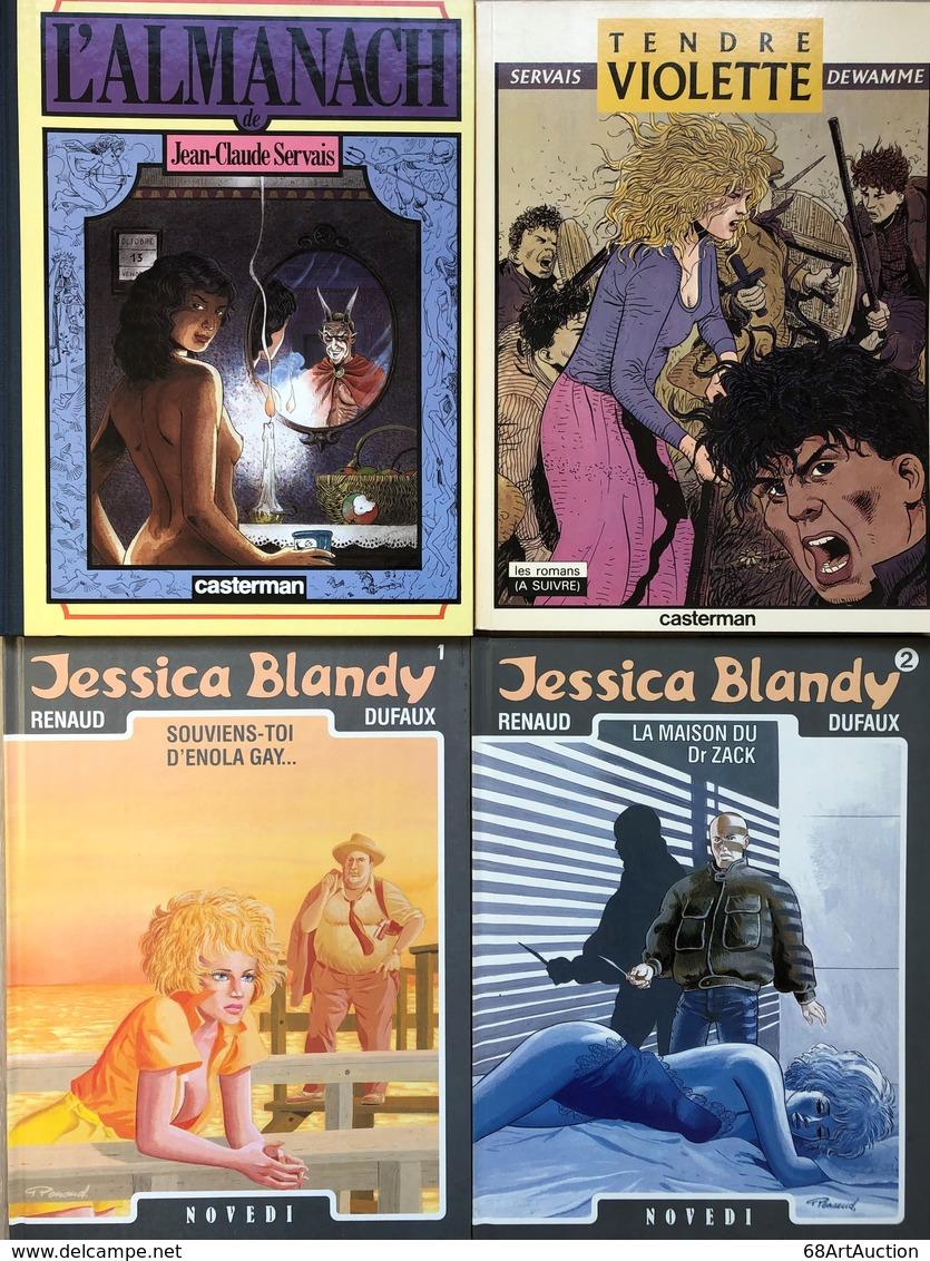 Renaud/Jessica Blandy.  Ensemble Des 14 Premiers Tomes En EO.  Etat Neuf Servais/Tendre Violette: -Tomes 1 & 2.  EO En é - Libros, Revistas, Cómics