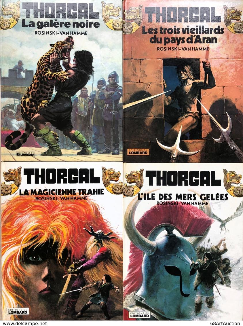 """Rosinski/Thorgal.  Rare Ensemble Des 23 Premiers Tomes De """"Thorgal"""" EO.  Etat Neuf - Libros, Revistas, Cómics"""