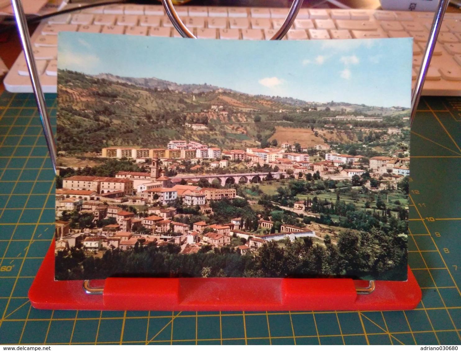 149361 TERAMO PANORAMA PARZIALE - Teramo