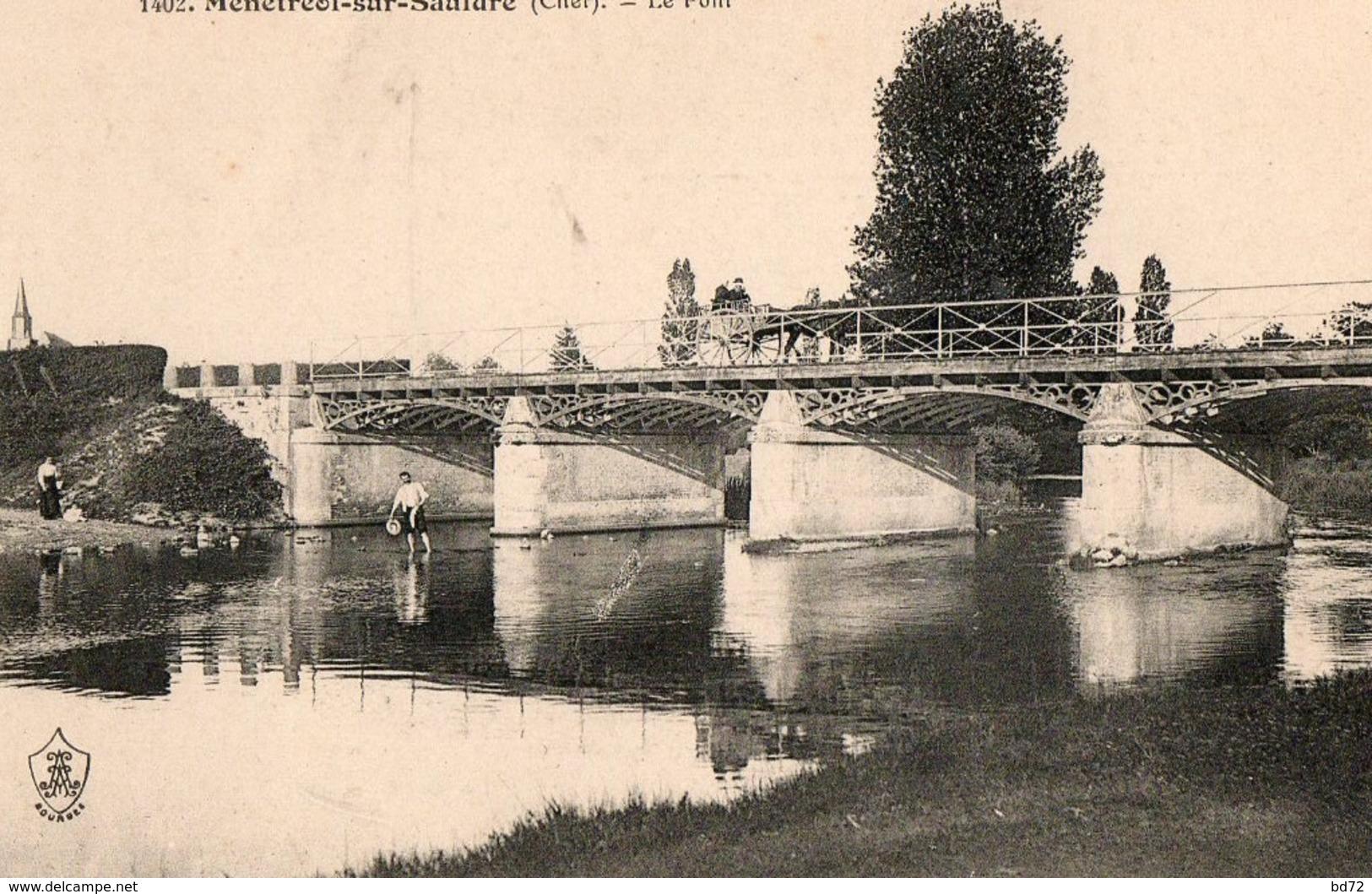 MENETREOL SUR SAULDRE ( 18 ) - Le Pont - Other Municipalities
