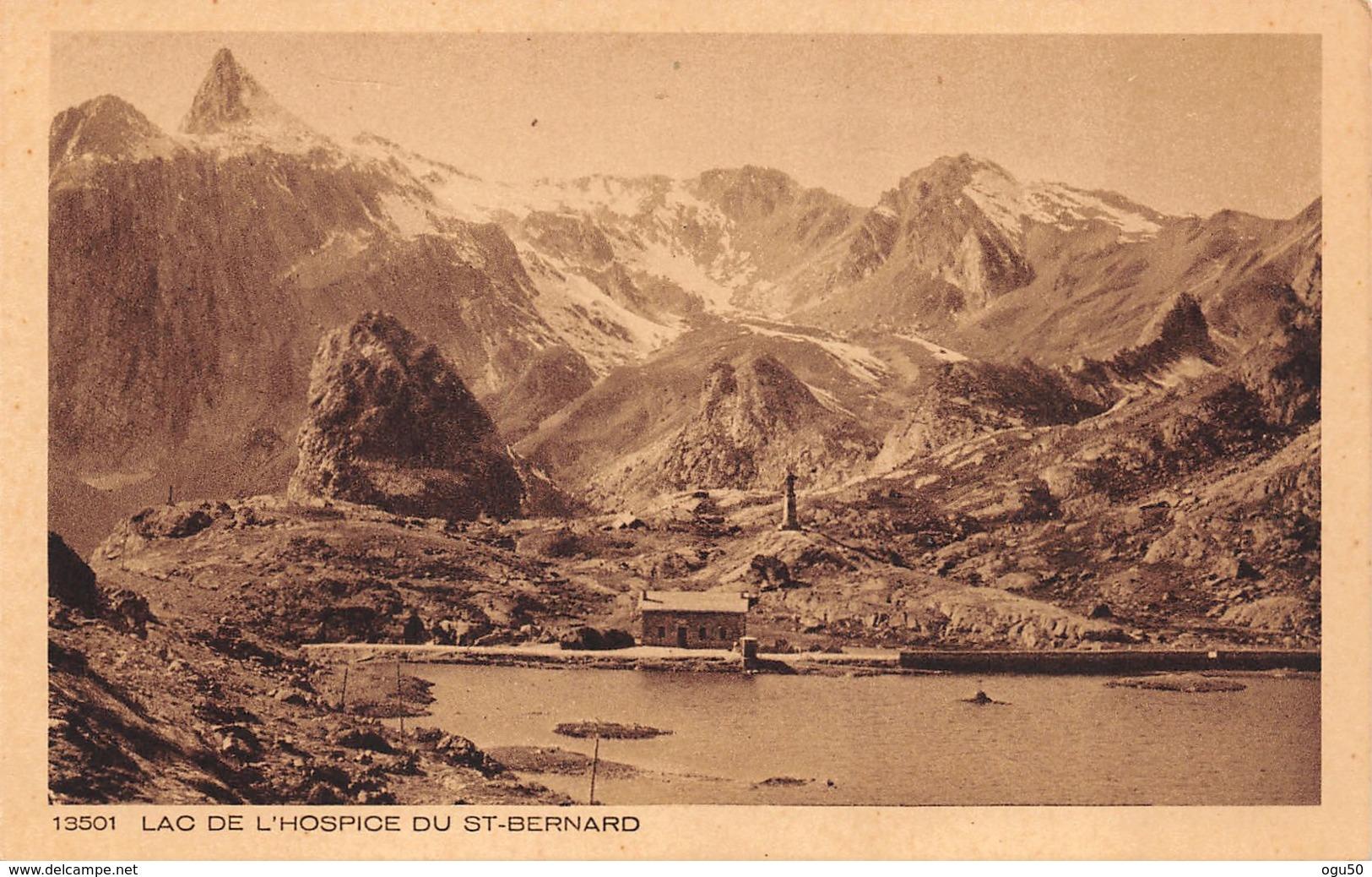 Grand Saint Bernard (Suisse) - Lac De L'Hospice - VS Valais