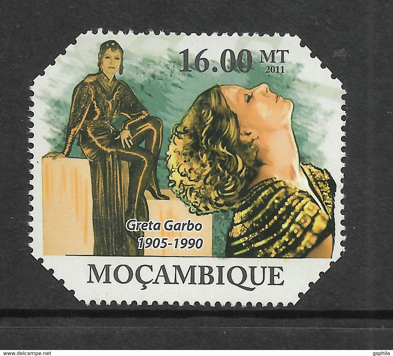 Mozambique Greta Garbo Cinema  1v Stamp MNH Michel:4751 - Famous People