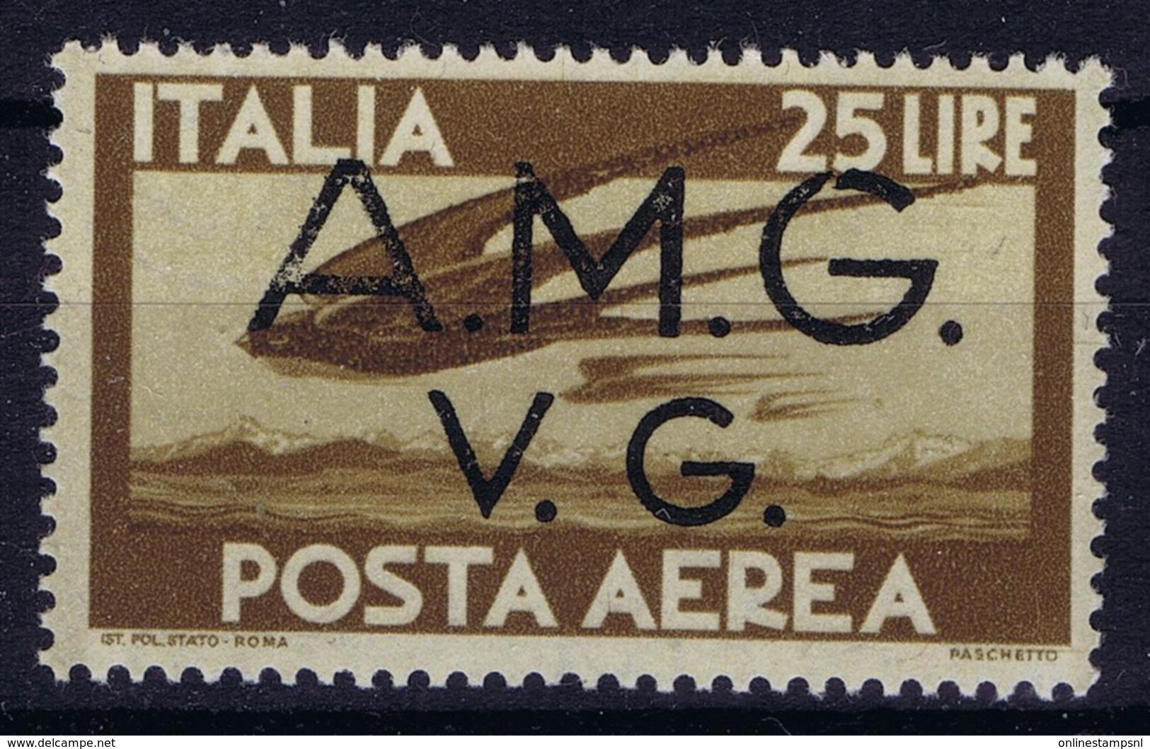 Italy: AMG-VG Sa PA 7 Broken G In AMG MH/* Flz/ Charniere - Ongebruikt