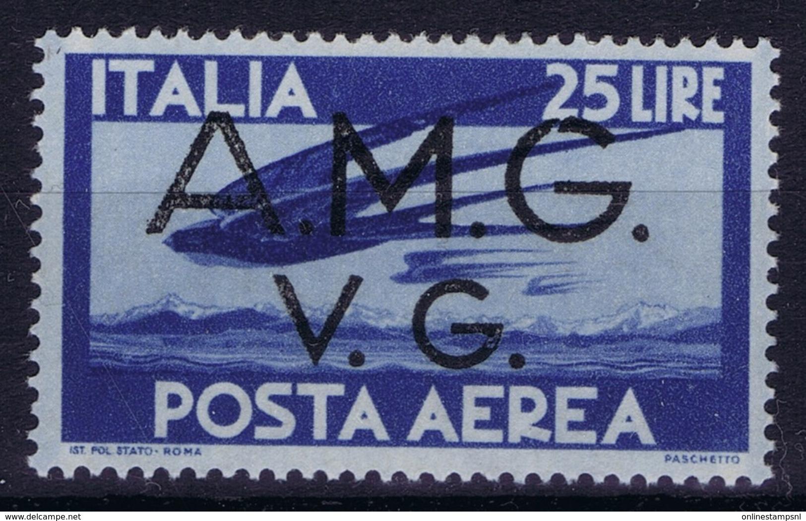 Italy: AMG-VG Sa PA 6 Broken G In AMG MH/* Flz/ Charniere - Ongebruikt