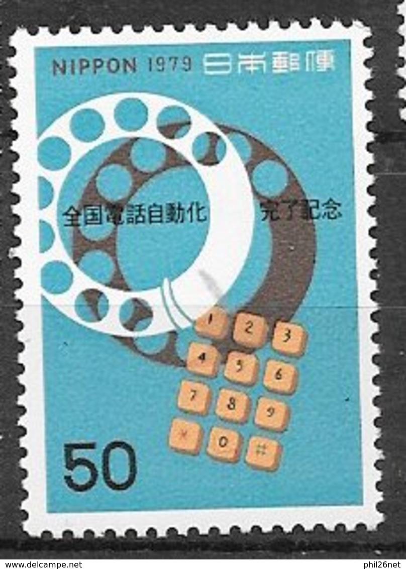 Japon N ° 1296  Téléphone    Neuf * * TB = MNH VF Soldé ! ! ! Le Moins Cher Du Site ! ! ! - Poupées
