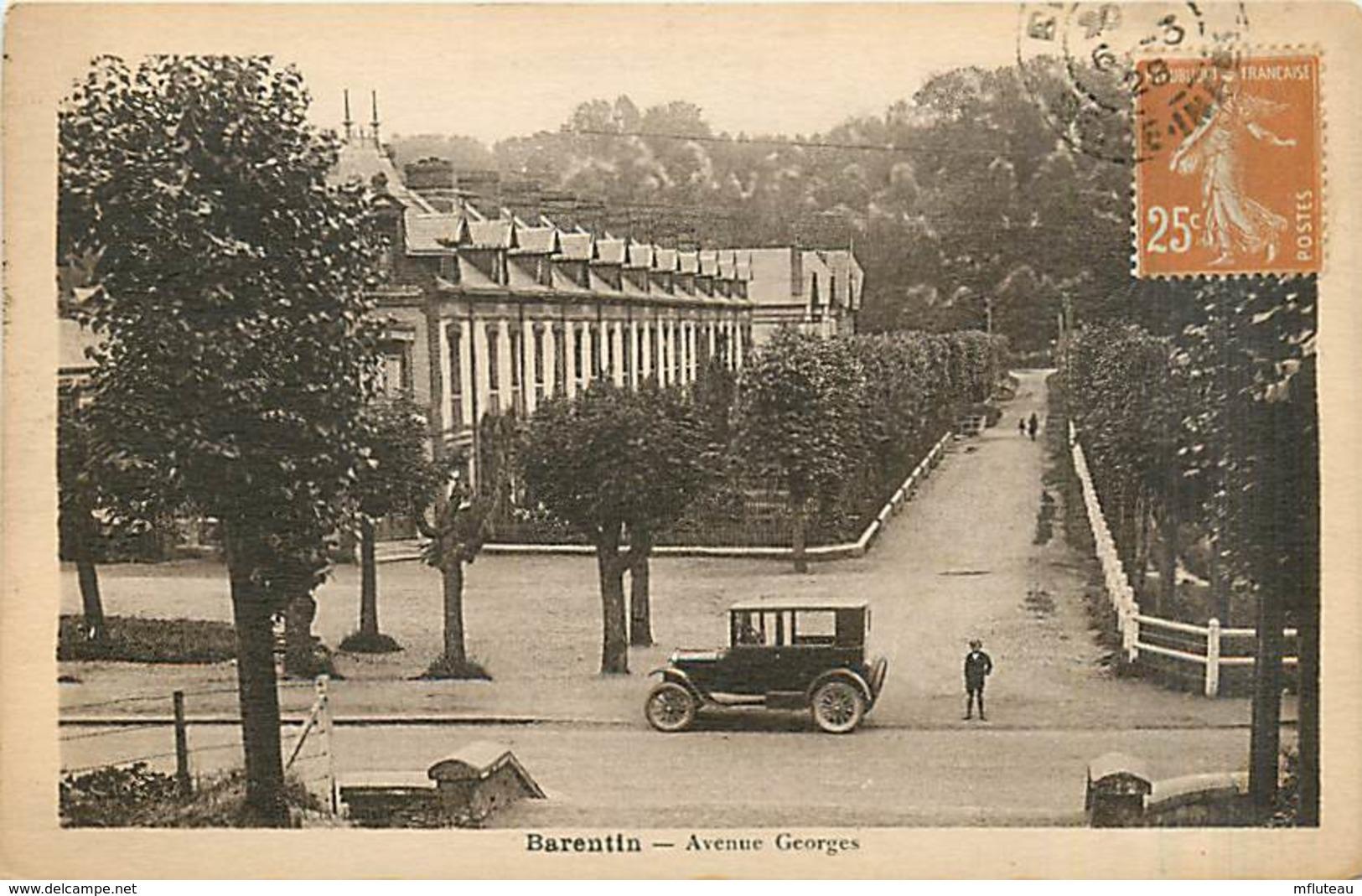 76* BARENTIN  Av Georges        MA96,0536 - Barentin
