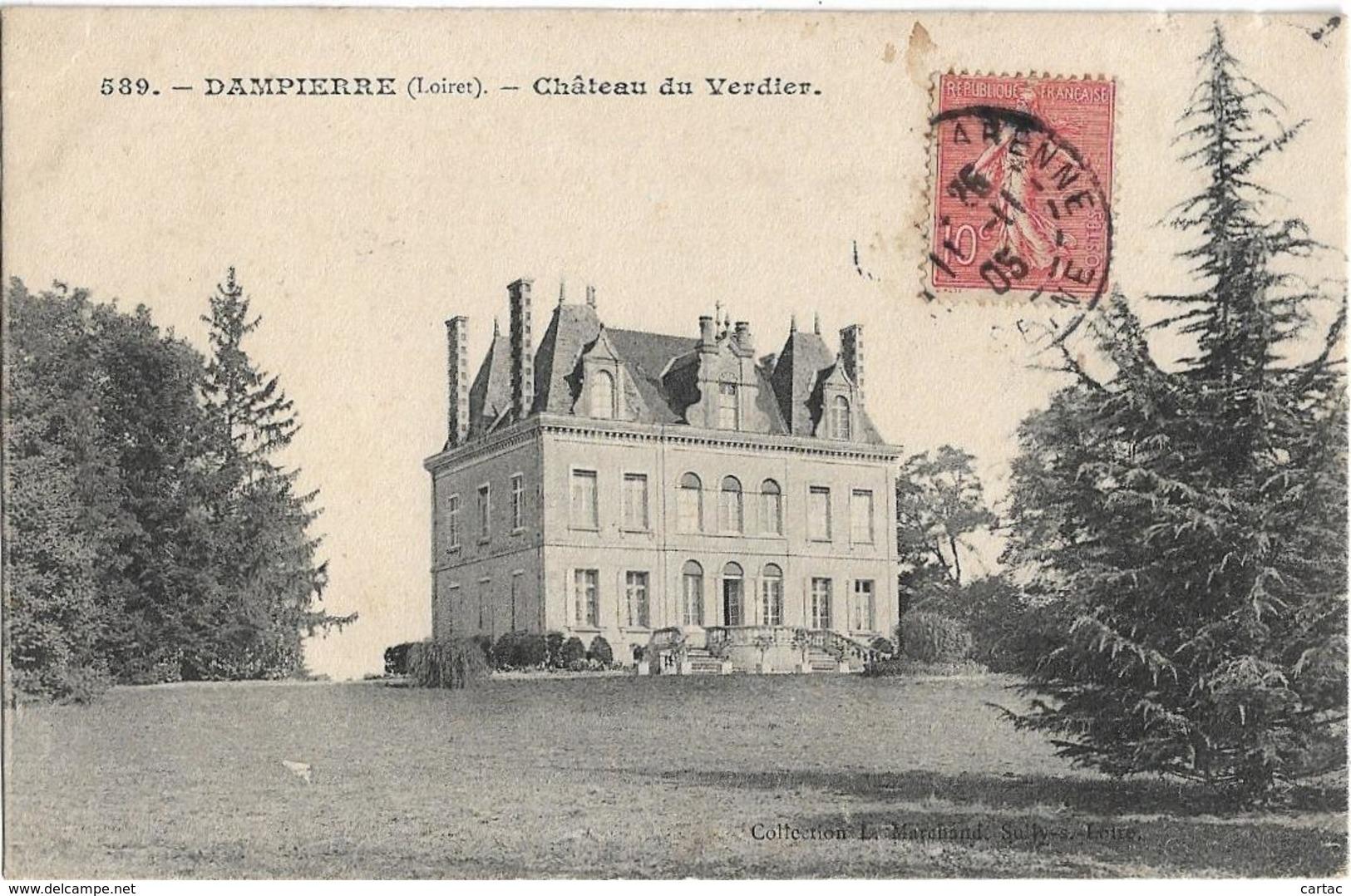 D45 - DAMPIERRE - CHÂTEAU DU VERDIER - France