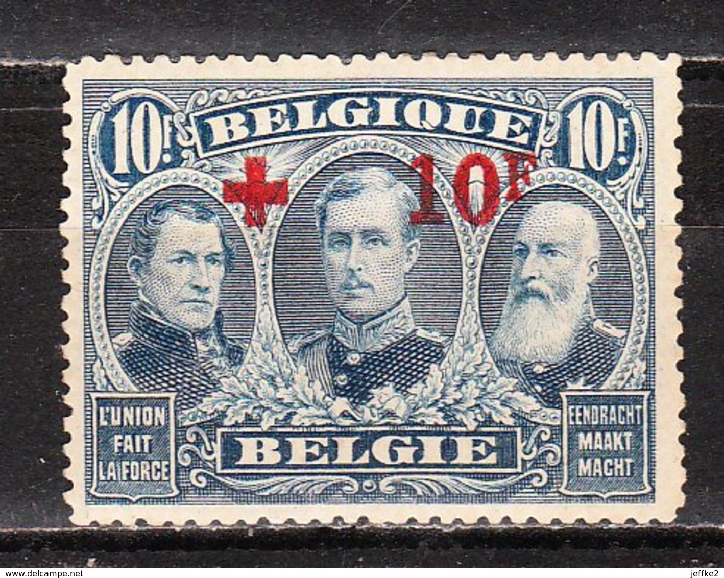 163**  Croix-Rouge - Bonne Valeur - MNH** - LOOK!!!! - 1918 Rotes Kreuz