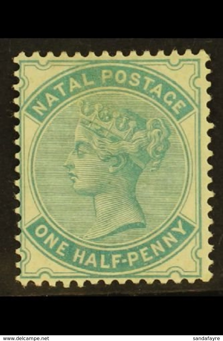 1882 ½d Blue Green, Wmk CA, SG 97, Very Fine And Fresh Mint. For More Images, Please Visit Http://www.sandafayre.com/ite - South Africa (...-1961)