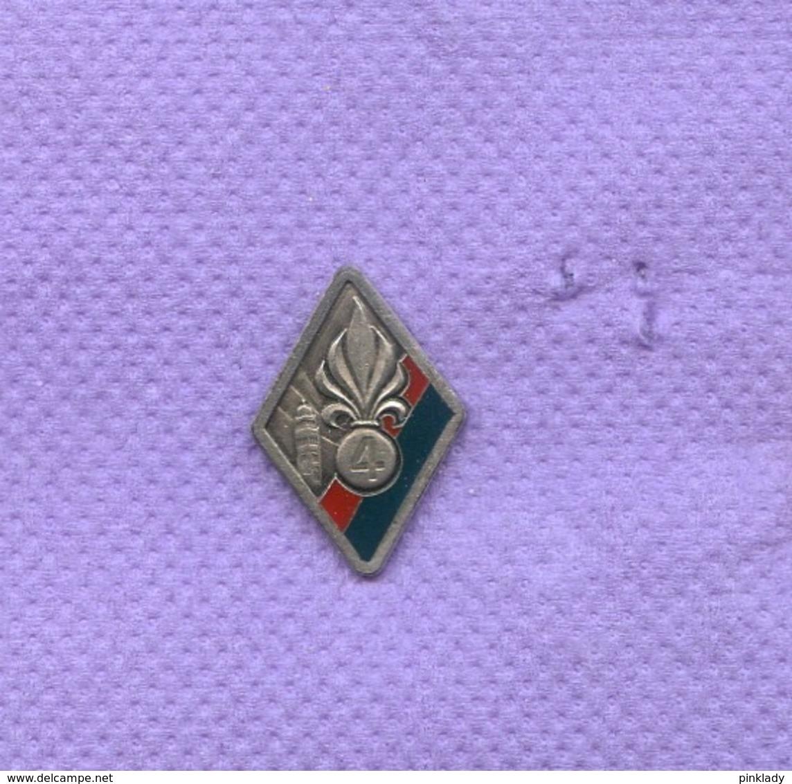 Rare Pins Legion Etrangere Armee Militaire K417 - Militares