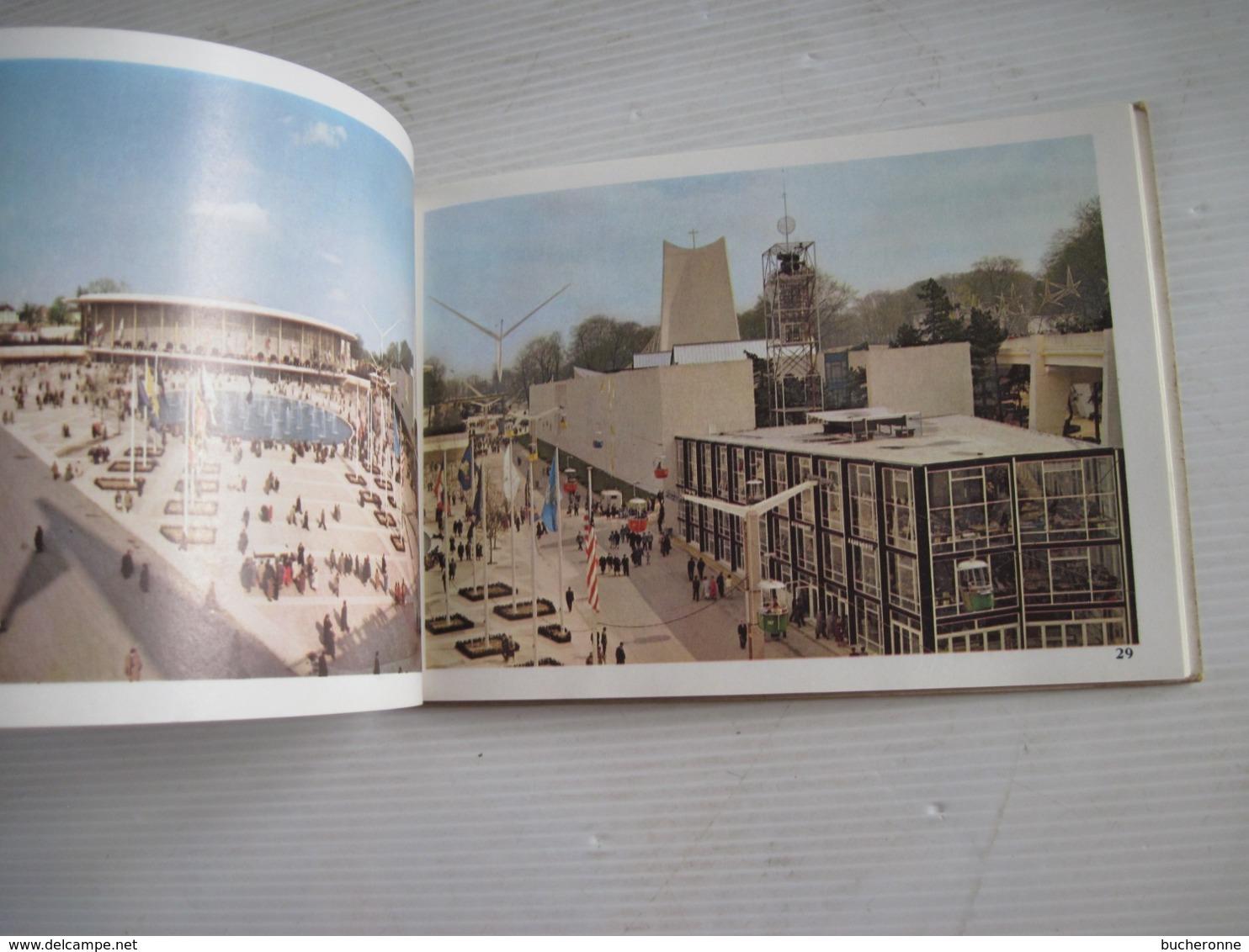Carnet Album Souvenir Exposition Universelle Et Internationale De Bruxelles 1958 Expo 58 56 Images - Obj. 'Souvenir De'