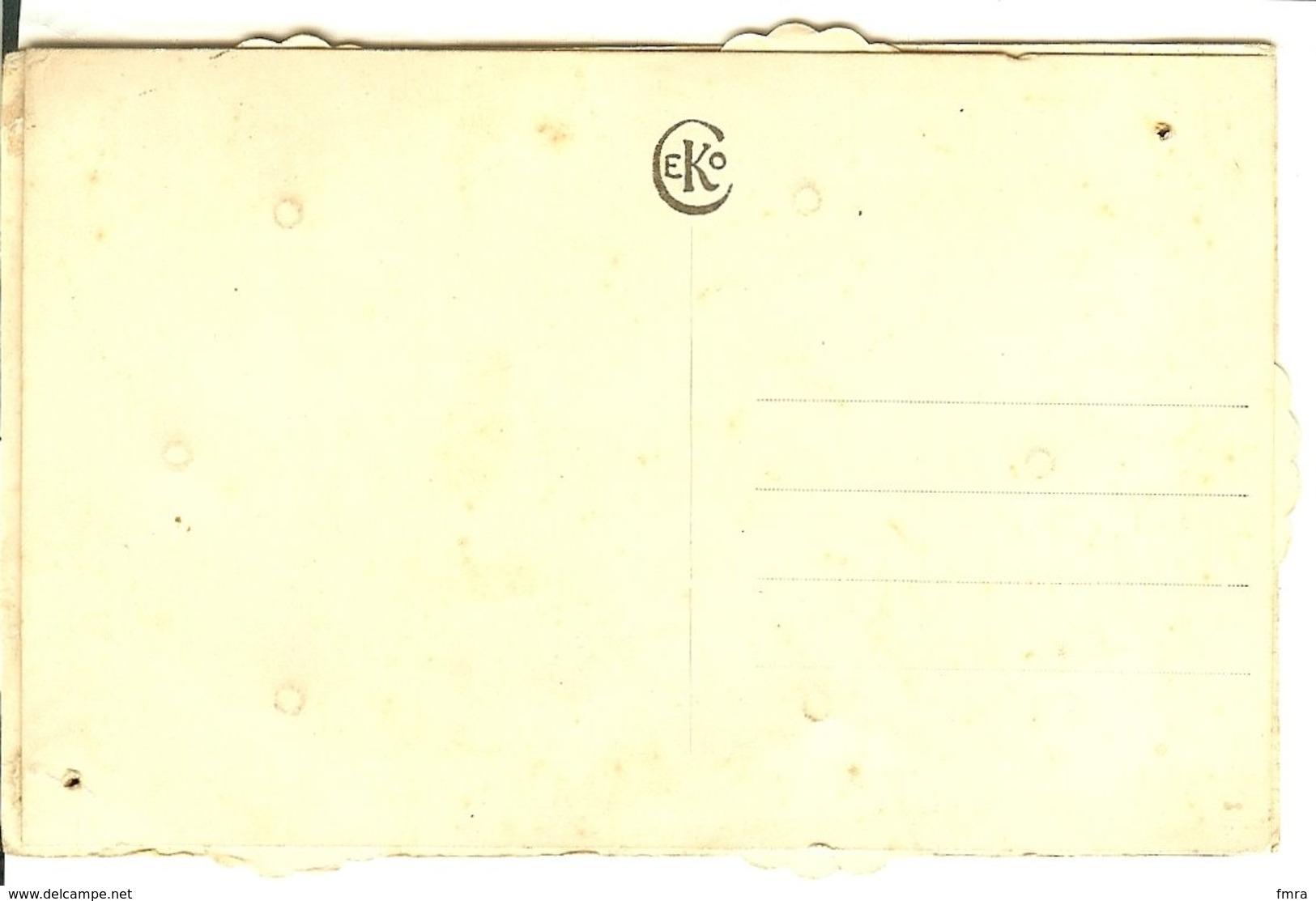 CP à Système - Calendrier De La Classe  / 2 Scans /M41 - Militaria