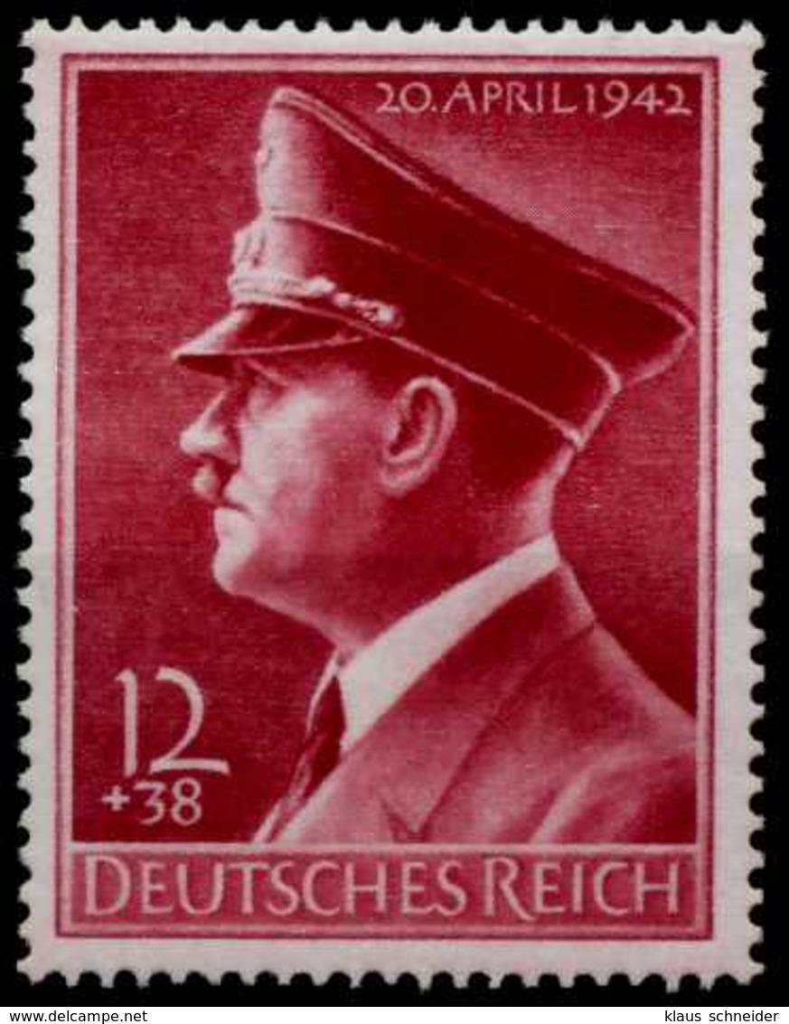 3. REICH 1942 Nr 813y Postfrisch X71C71A - Ungebraucht