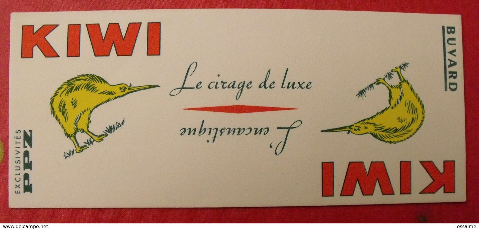 Buvard Kiwi Le Cirage De Luxe, L'encaustique. PPZ. - K