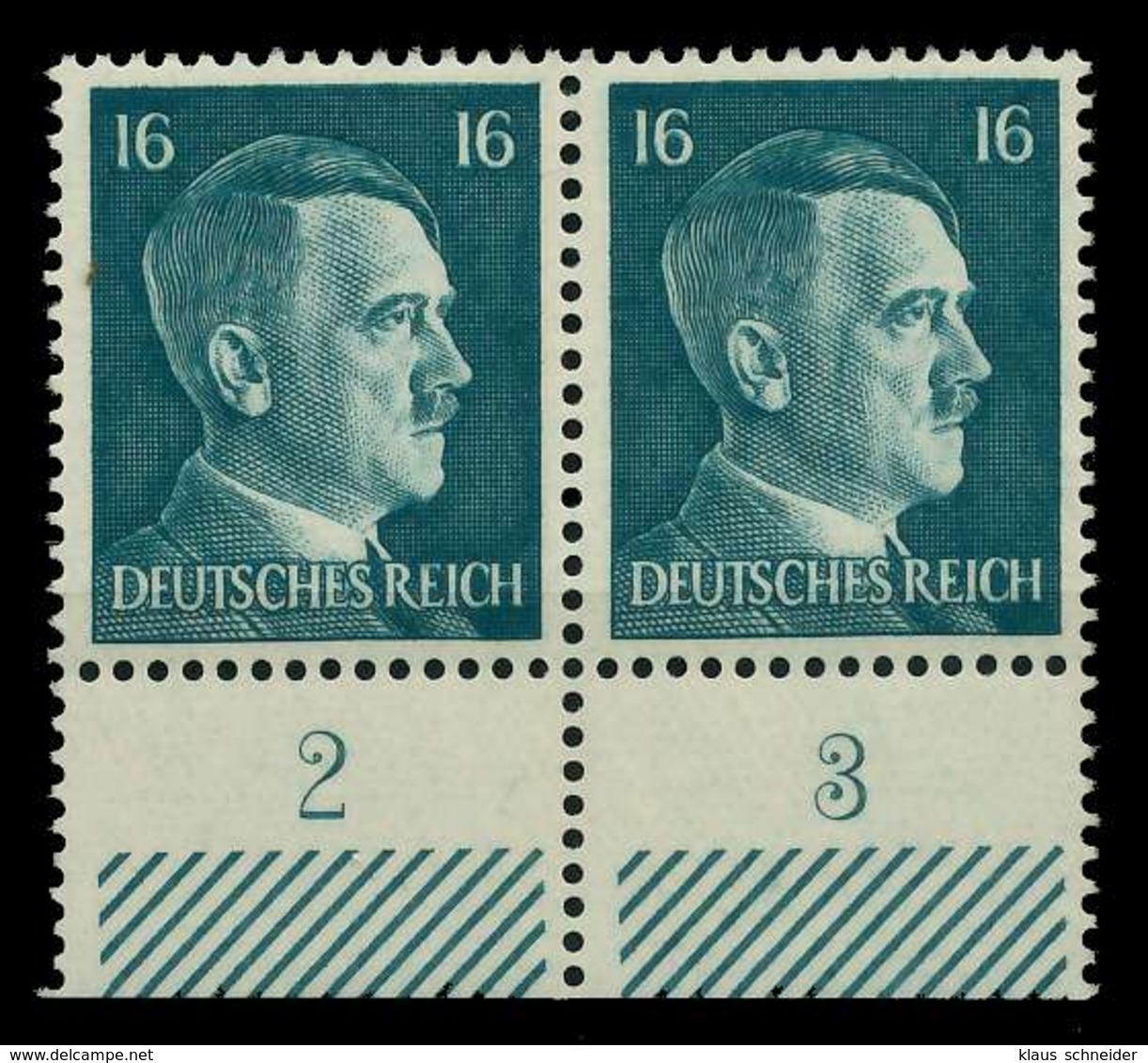 3. REICH 1941 Nr 790 Postfrisch WAAGR PAAR URA X78015E - Deutschland