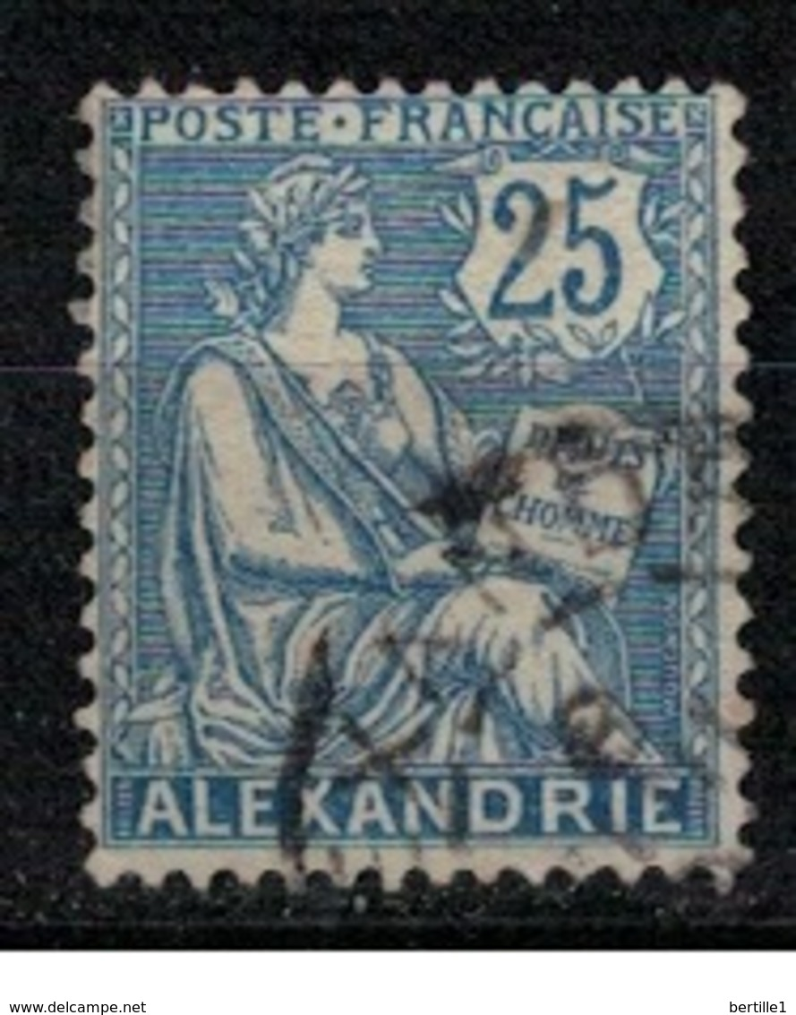 ALEXANDRIE           N°     YVERT    27 ( 3 )   OBLITERE       ( Ob  5/45 ) - Gebraucht