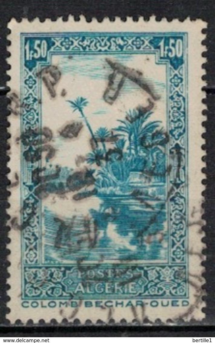 ALGERIE            N°     YVERT    118  ( 4 )         OBLITERE       ( Ob  5/45 ) - Algerien (1924-1962)