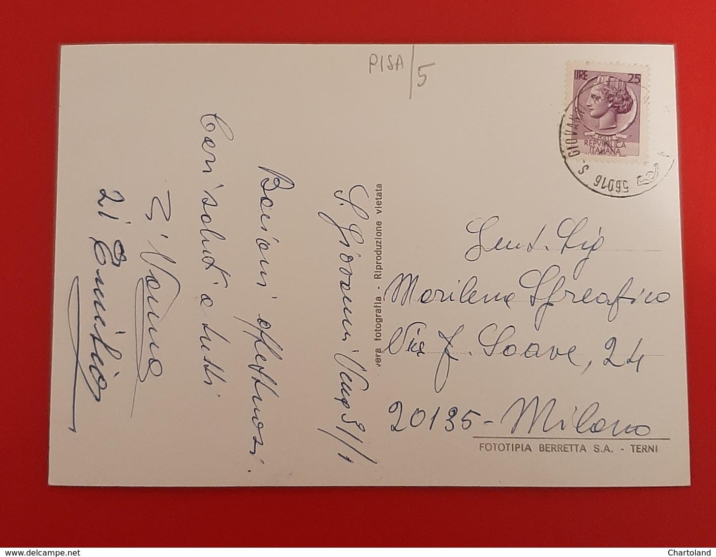 Cartolina Saluti Da S. Giovanni Alla Valle - 1986 - Teramo