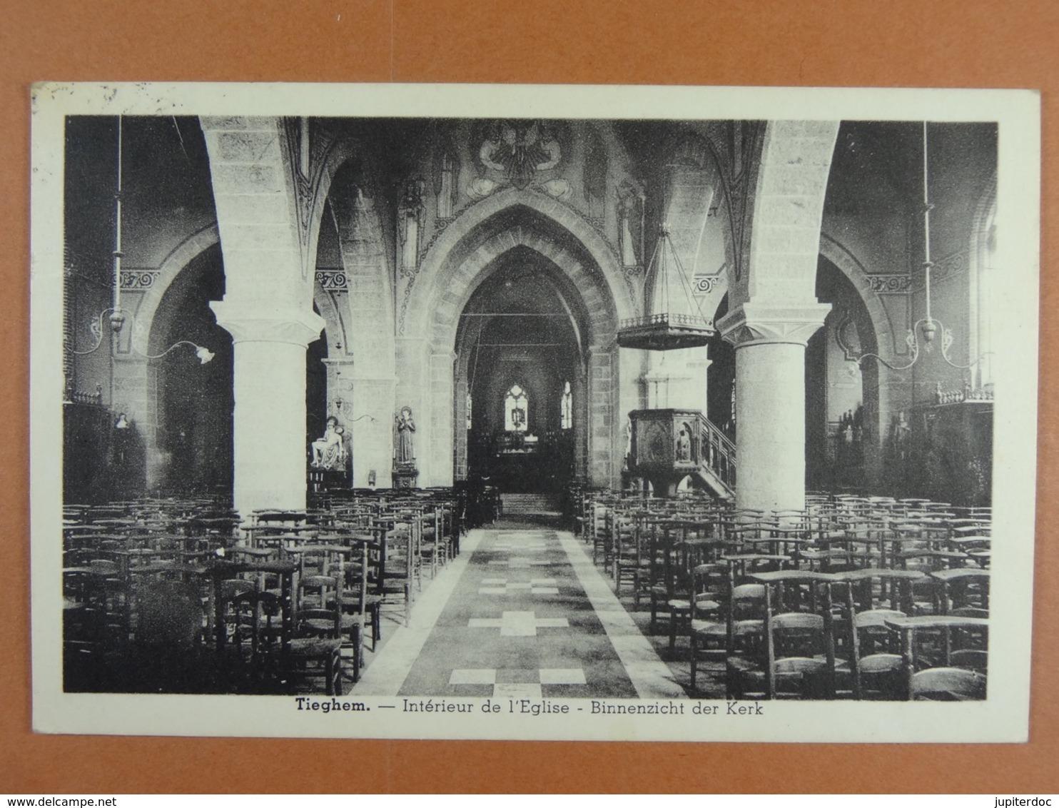 Tiegem Intérieur De L'Eglise Binnenzicht Der Kerk - Anzegem