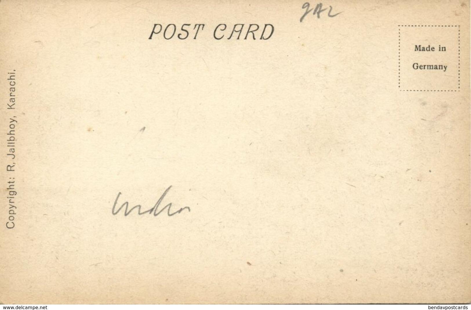 Pakistan, KARACHI, Native Jetty (1910s) R. Jalibhoy Postcard - Pakistan