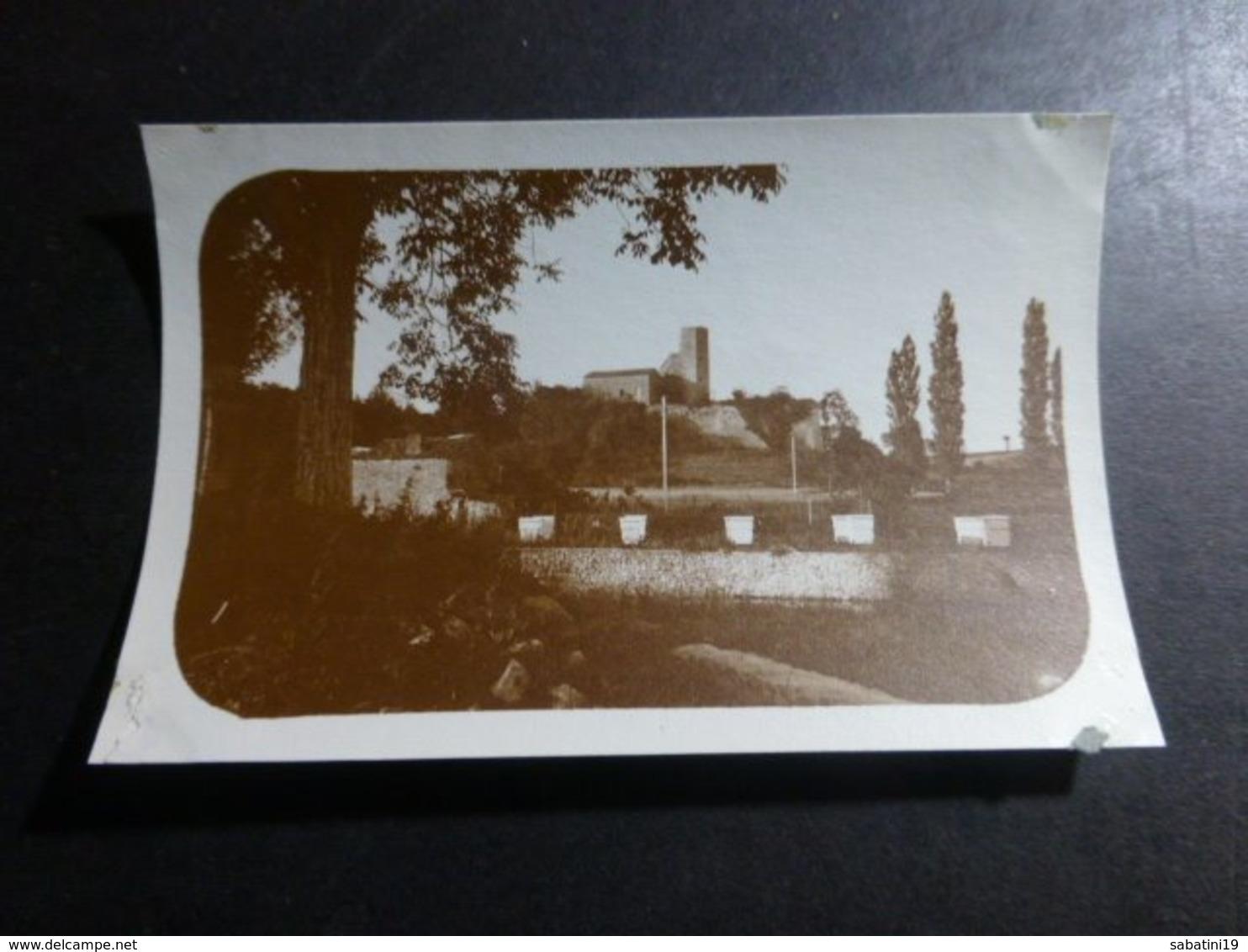 SAUVEBOEUF VIEUX CHATEAU DORDOGNE AQUITANIE FRANCE ANCIENNE PHOTO 1934 - Places