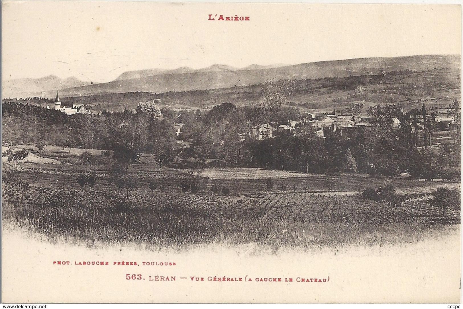 CPA Léran Vue Générale - Frankrijk