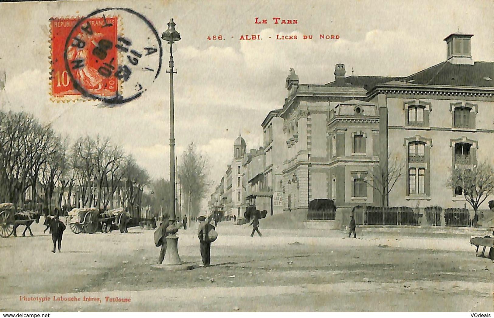 CPA - France - (81) Tarn - Albi - Lices Du Nord - Albi