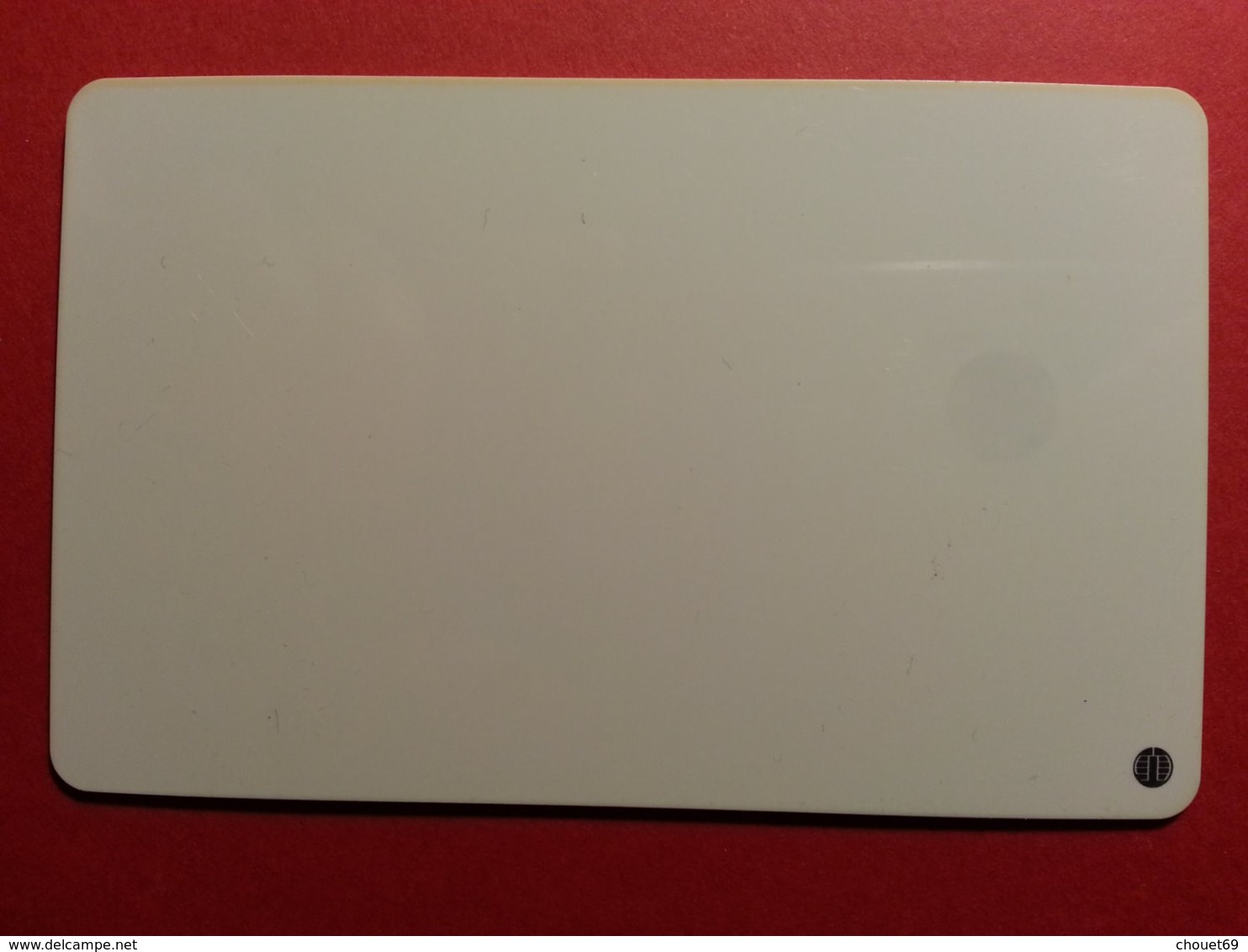 FE240 DEMO TEST SCHLUMBERGER SC7 50u Chargée Mint (BF1217 - Herkunft Unbekannt