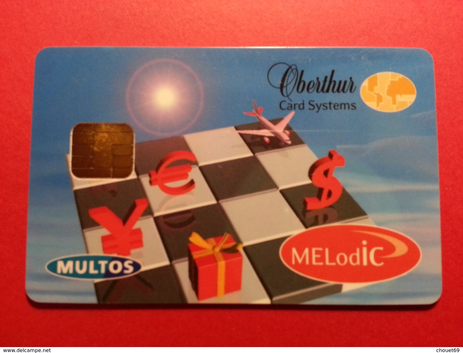 OBERTHUR DEMO TEST CARD MELODIC MELodIC MULTOS Smart (FB1217) - Herkunft Unbekannt