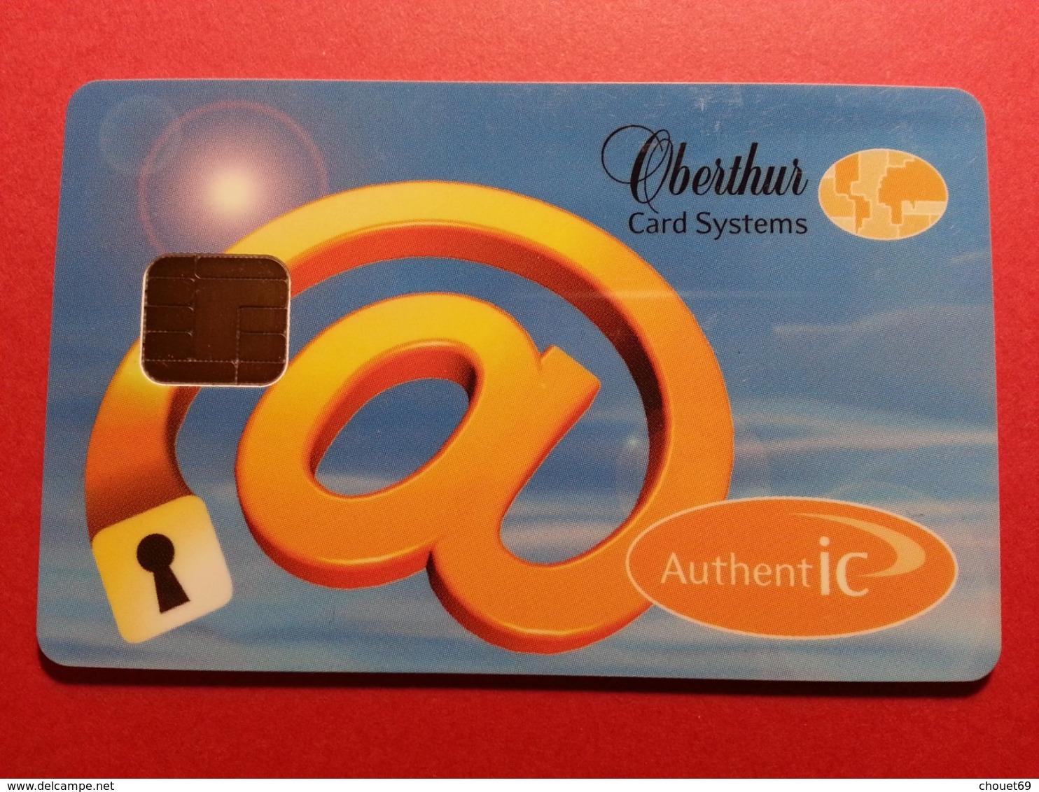 OBERTHUR DEMO TEST CARD AUTHENTIC AuthentIC Internet Smart (FB1217) - Herkunft Unbekannt