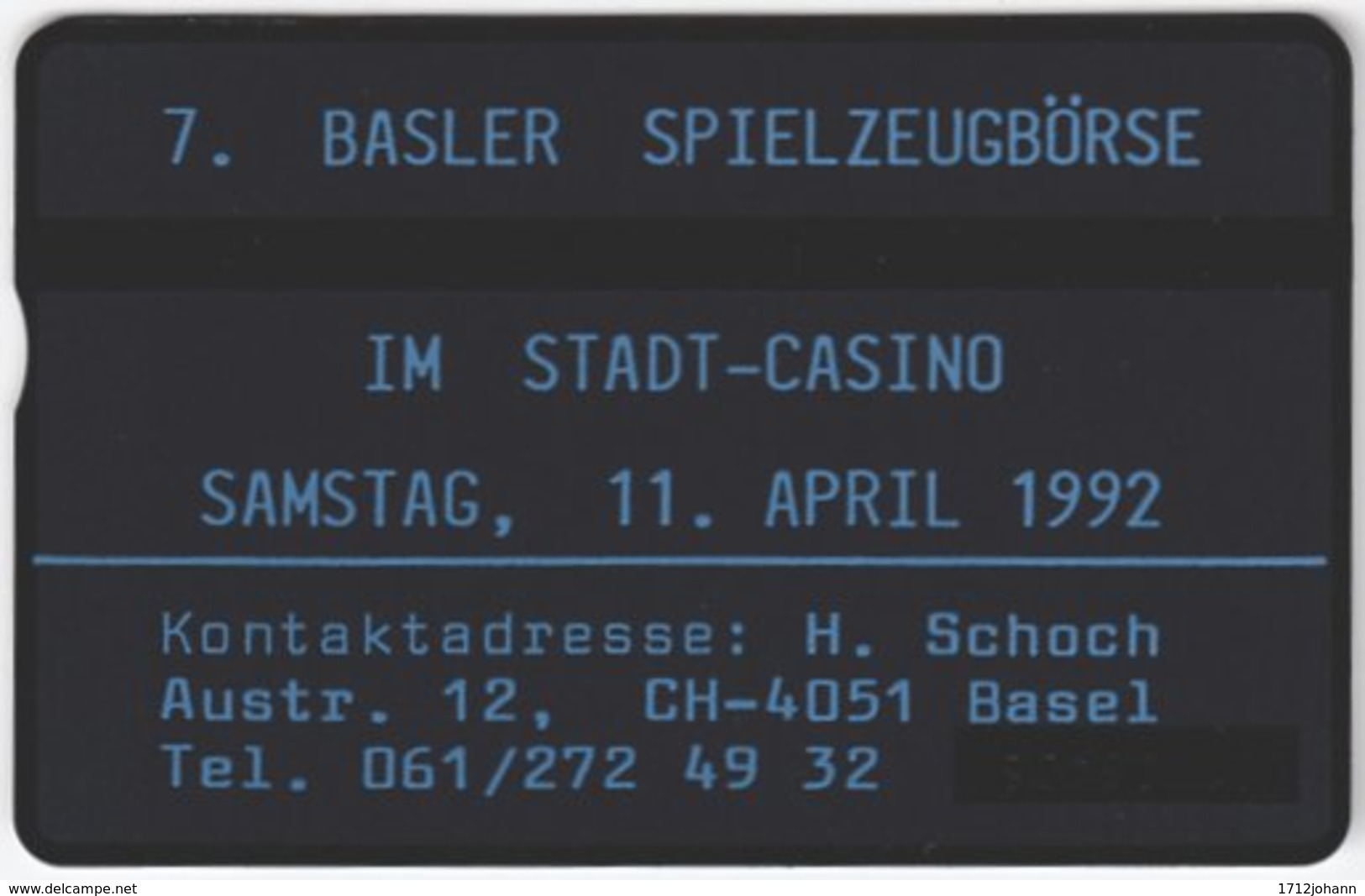 SWITZERLAND C-923 Hologram Private - 202L - MINT - Svizzera