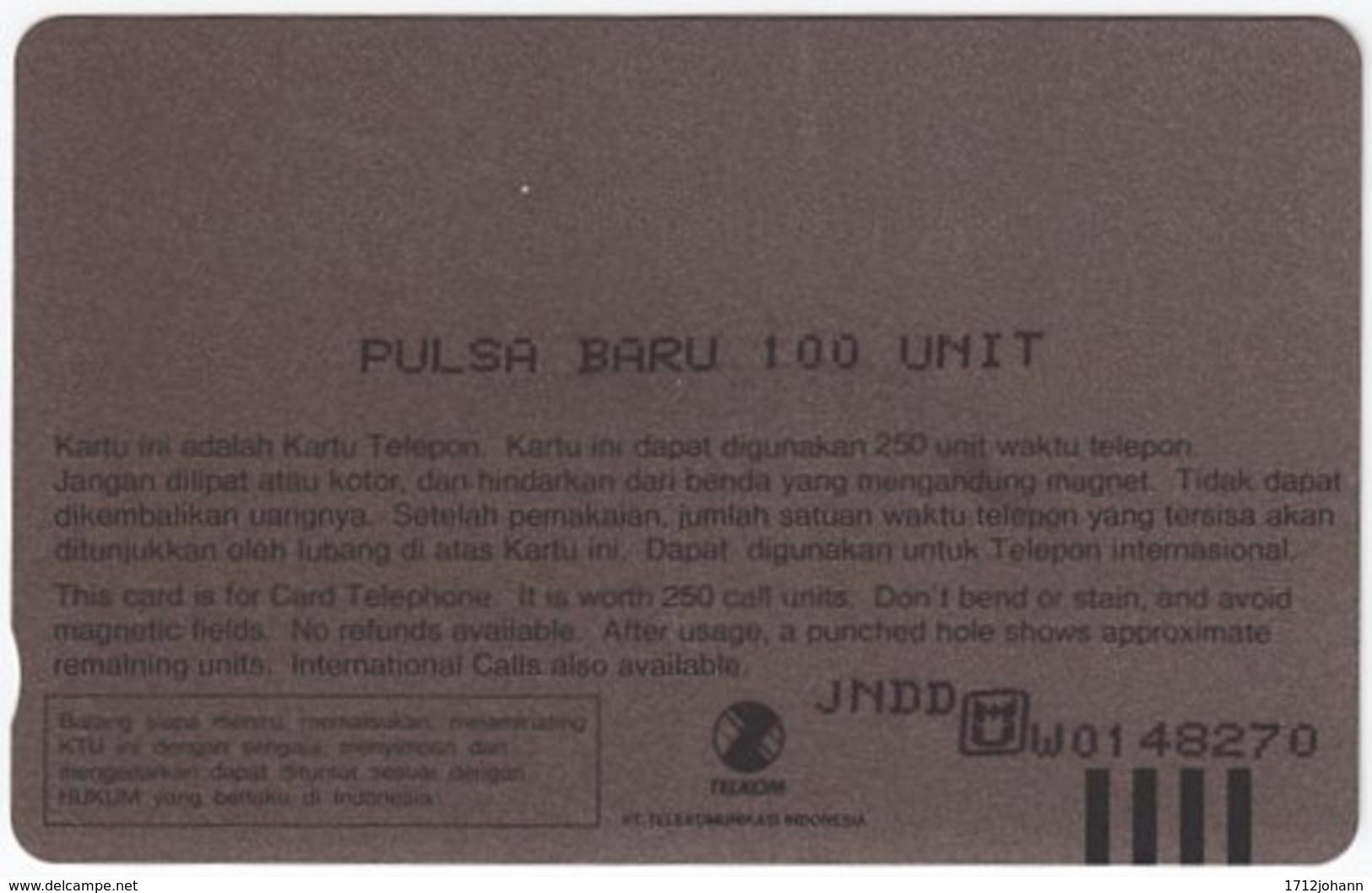 INDONESIA A-397 Magnetic Telekom - Animal, Binturong - Used - Indonesien