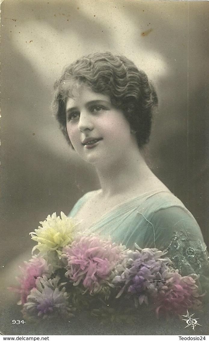 Mujer Años  1920 - Fotografía