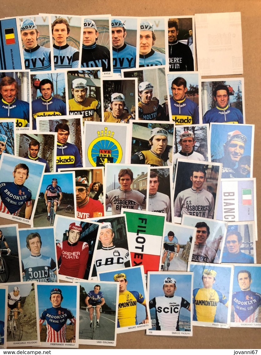 111 Chromos / Stickers Sprinters 73 - Nomodia -  Cyclists - Cyclisme - Ciclismo - Wielrennen