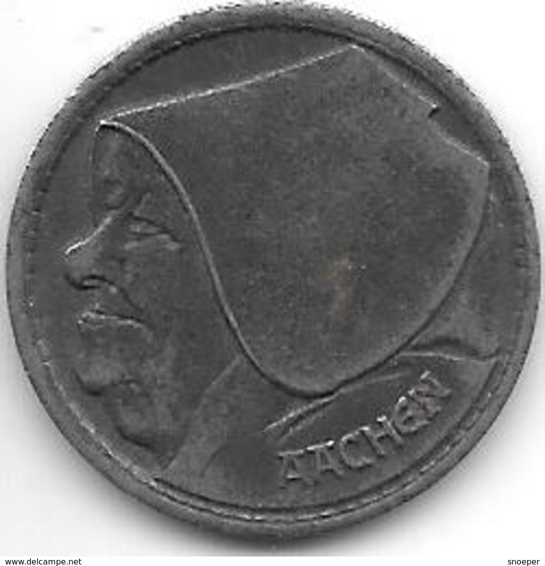 *notgeld  Aachen  1 Ocher Groschen 1920 F1.5Aa - [ 2] 1871-1918 : Impero Tedesco