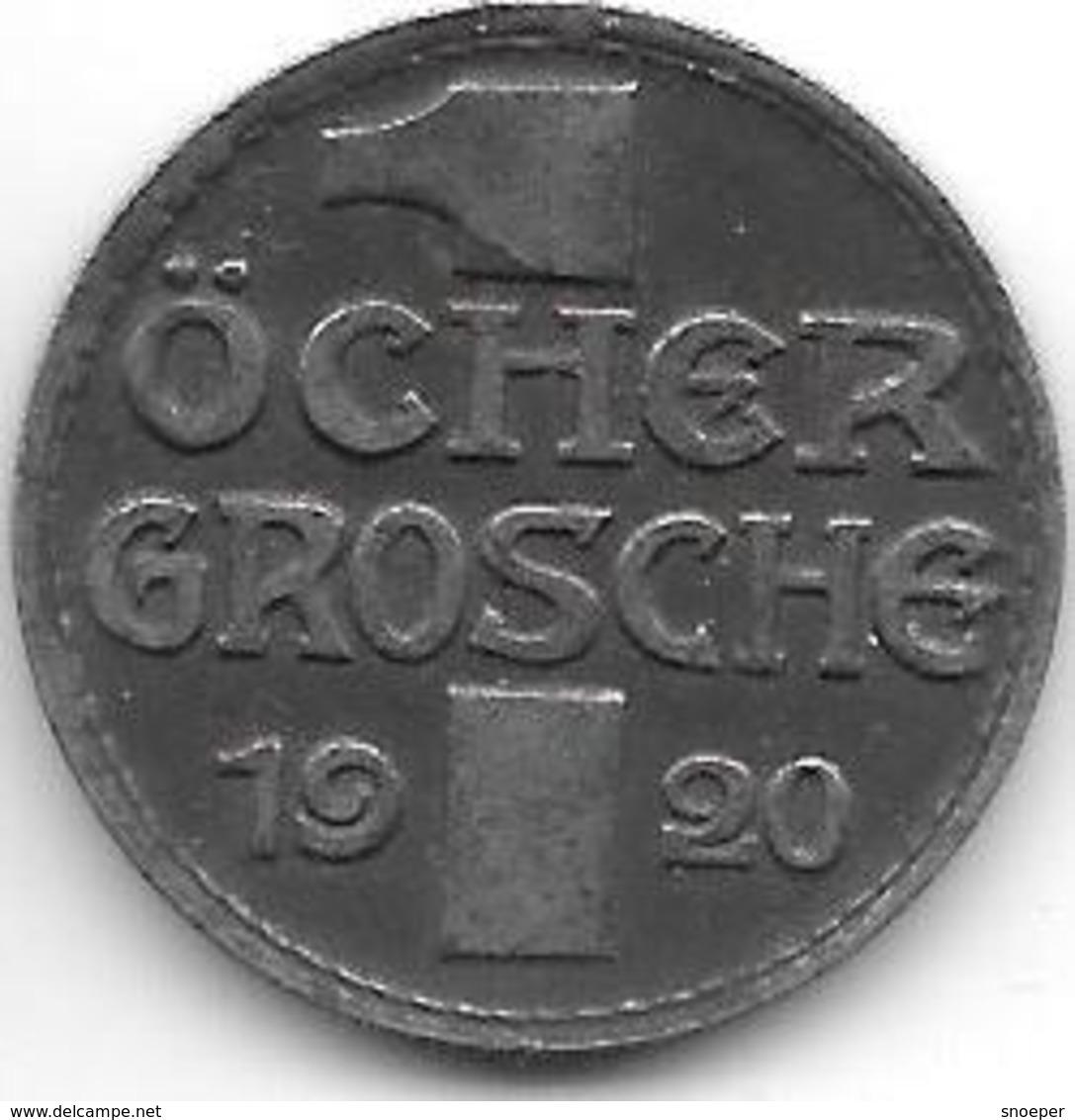 *notgeld  Aachen  1 Ocher Groschen 1920 F1.5Aa - Autres
