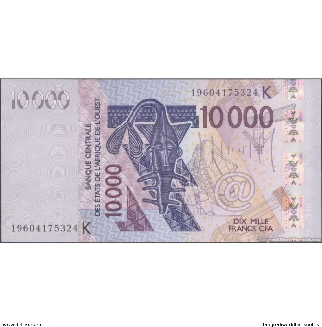 TWN - SENEGAL (W.A.S.) 718Ks - 10000 10.000 Francs 2003 (2019) UNC - États D'Afrique De L'Ouest