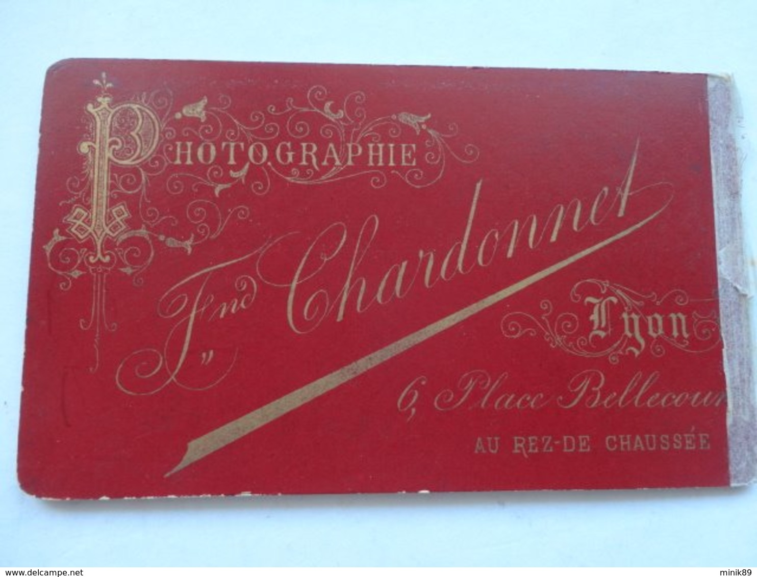 """CDV ALLIER """" M. MONGON """" Photo CHARDONNET VICHY  Sortie D'un Album Provenant De CUSSET - Photos"""