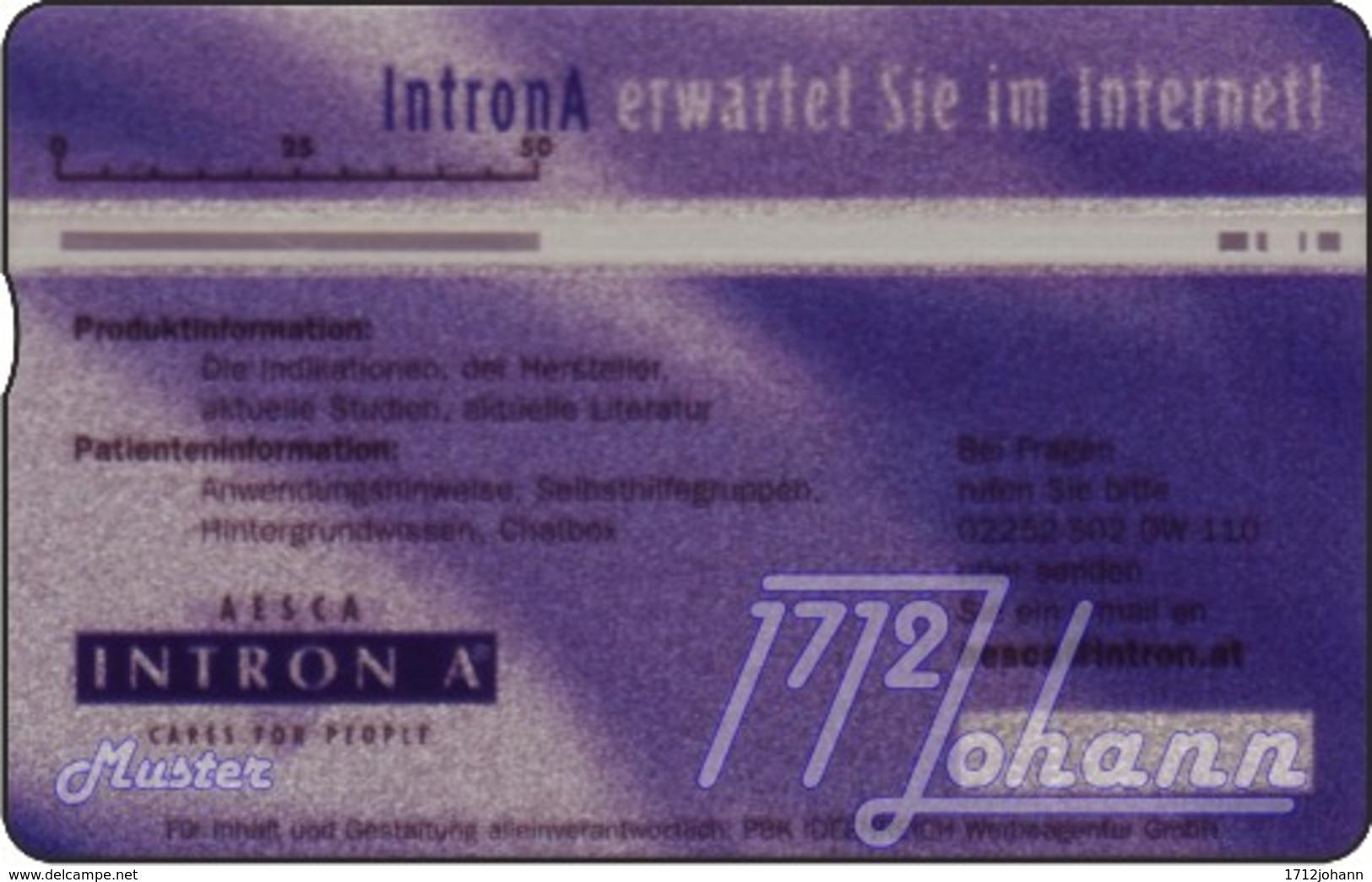 """TWK Österreich Privat: """"Intron A"""" Gebr. - Oesterreich"""