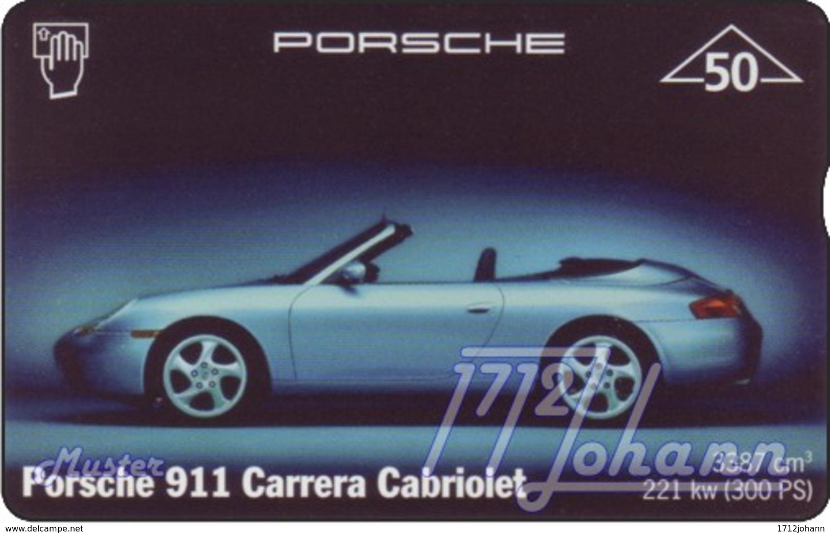 """TWK Österreich Privat: """"Porsche 911 Cabriolett"""" Gebr. - Oesterreich"""