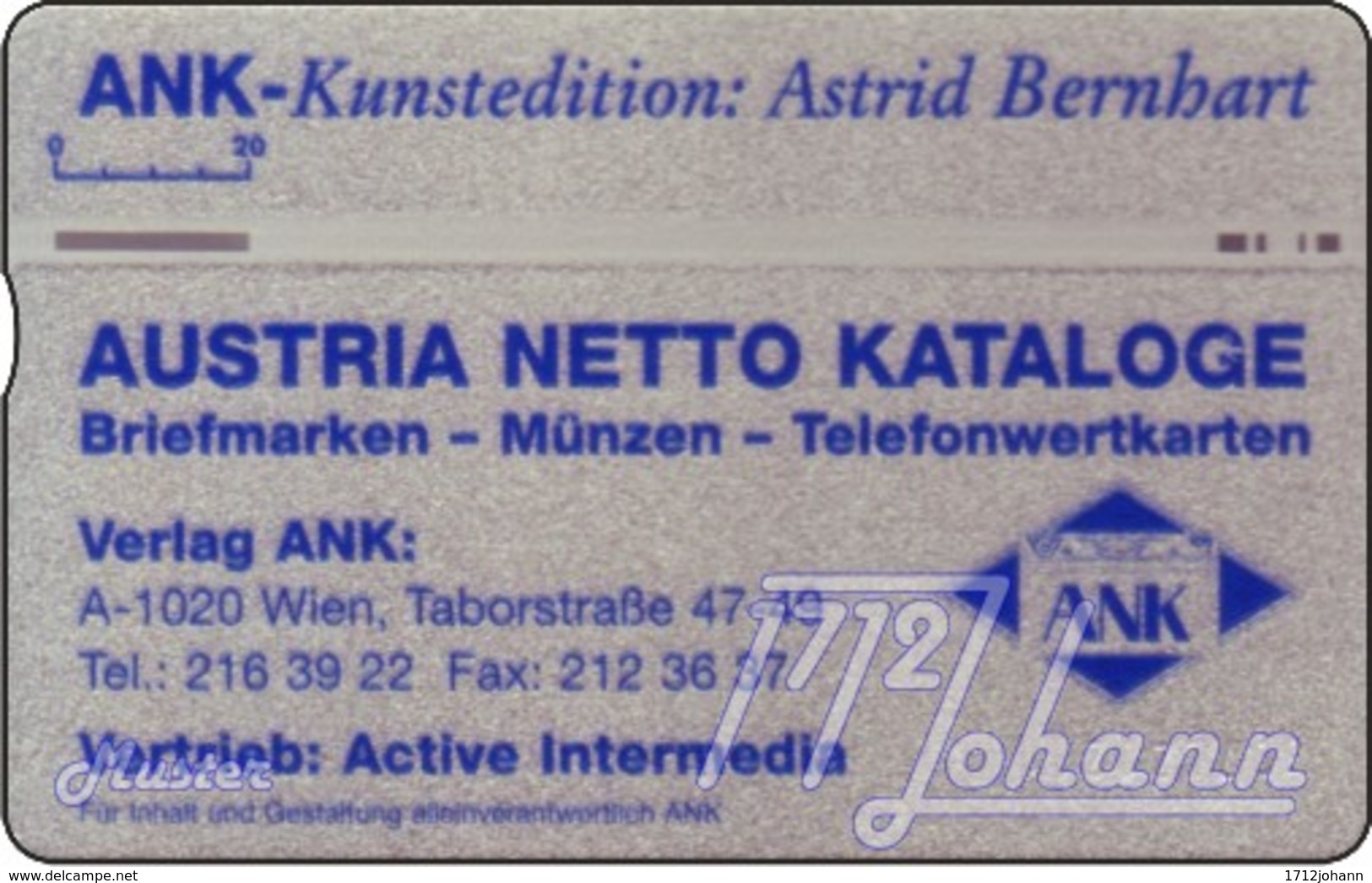 """TWK Österreich Privat: """"ANK-Kunstedition 2"""" Gebr. - Oesterreich"""