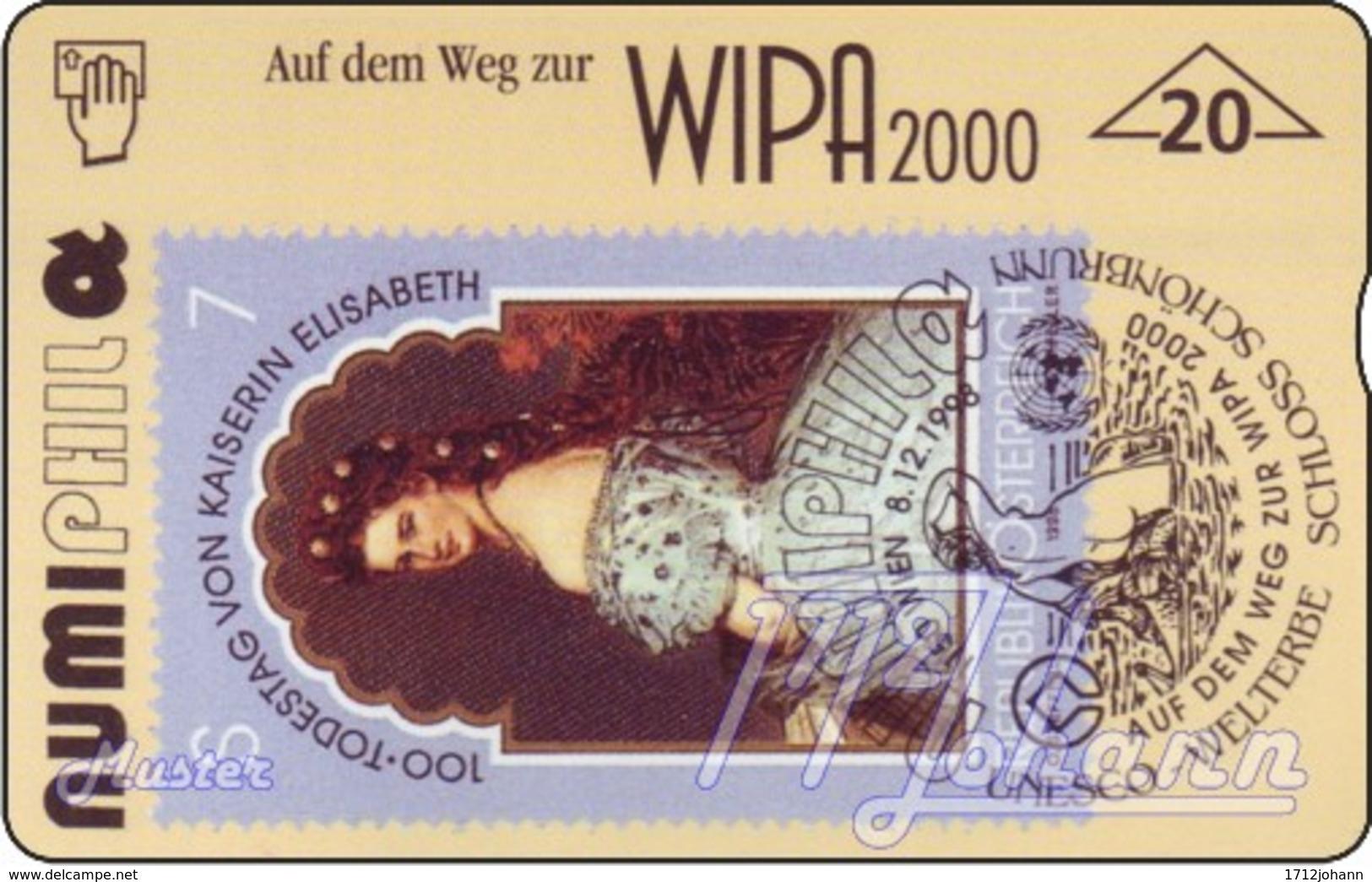 """TWK Österreich Privat: """"Numiphil - Elisabeth"""" Gebr. - Oesterreich"""