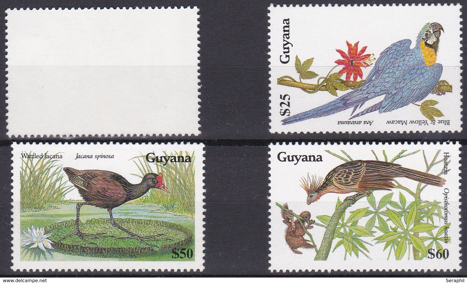 The Gambia - Oiseaux  - 1990 - Timbres N° 2156/9 - XX- 4valeurs - Gambie (1965-...)