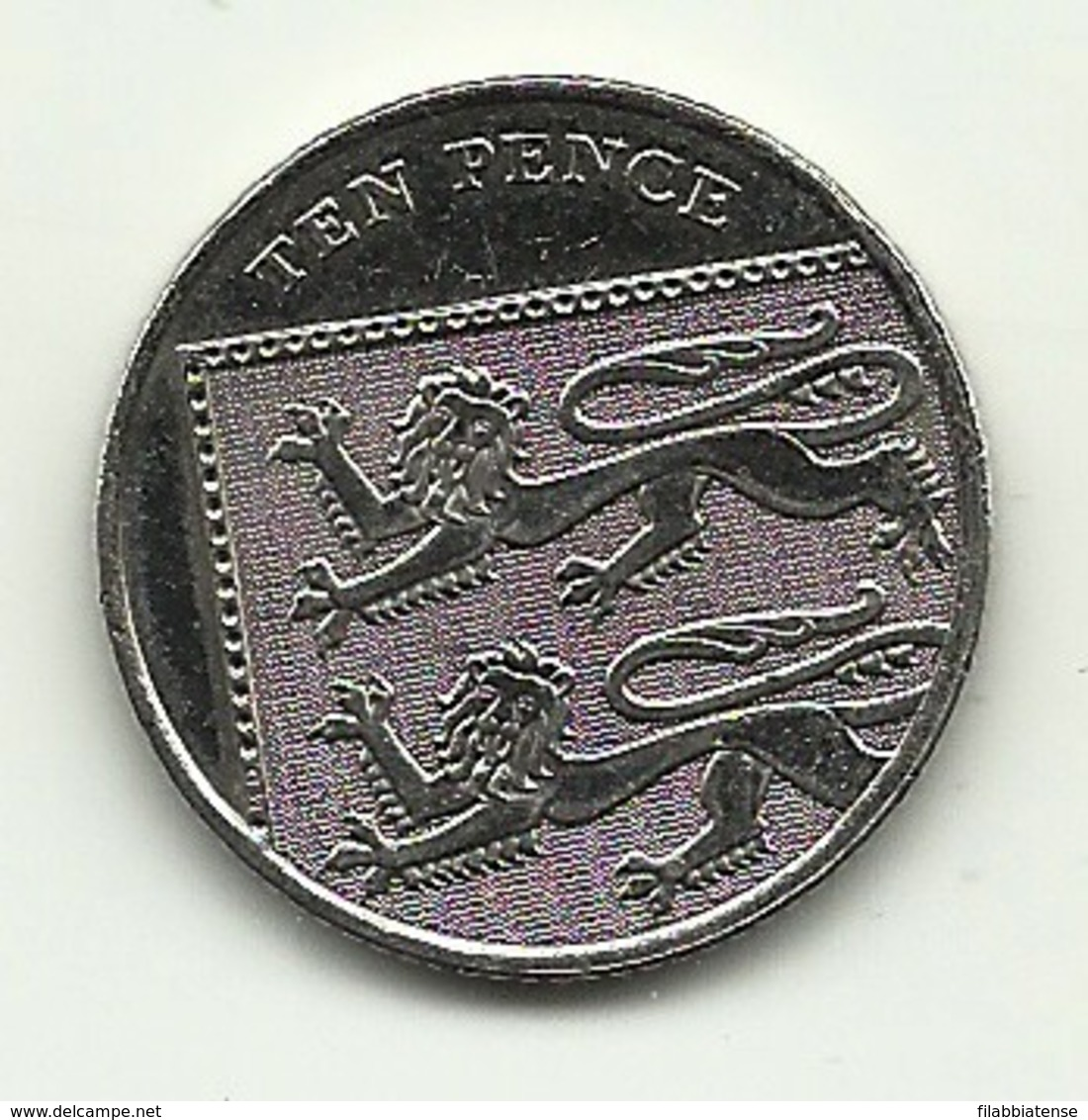 2010 - Gran Bretagna 10 Pence - 1971-… : Monete Decimali