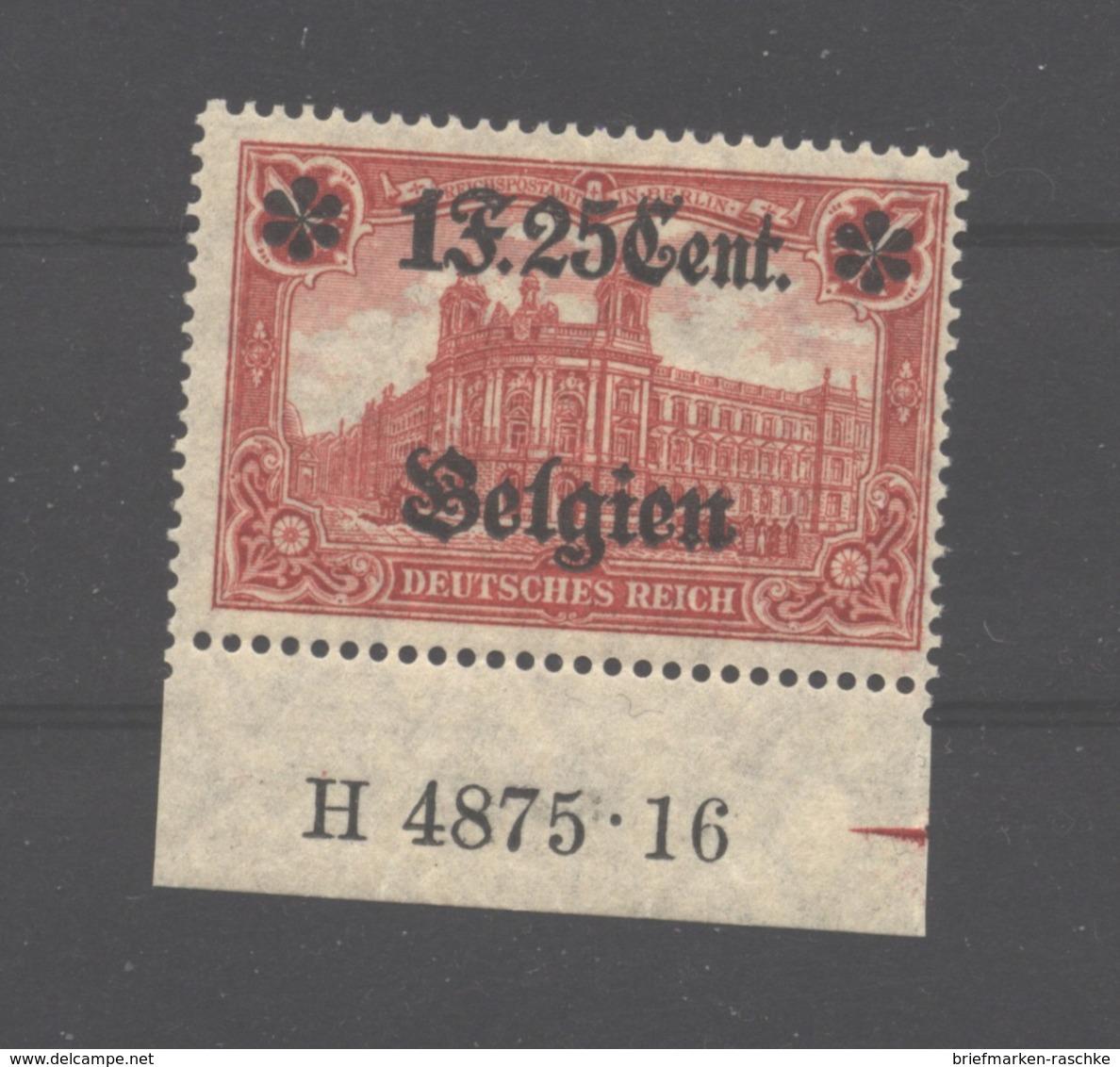 Belgien,23,II,HAN,xx,gep. - Besetzungen 1914-18