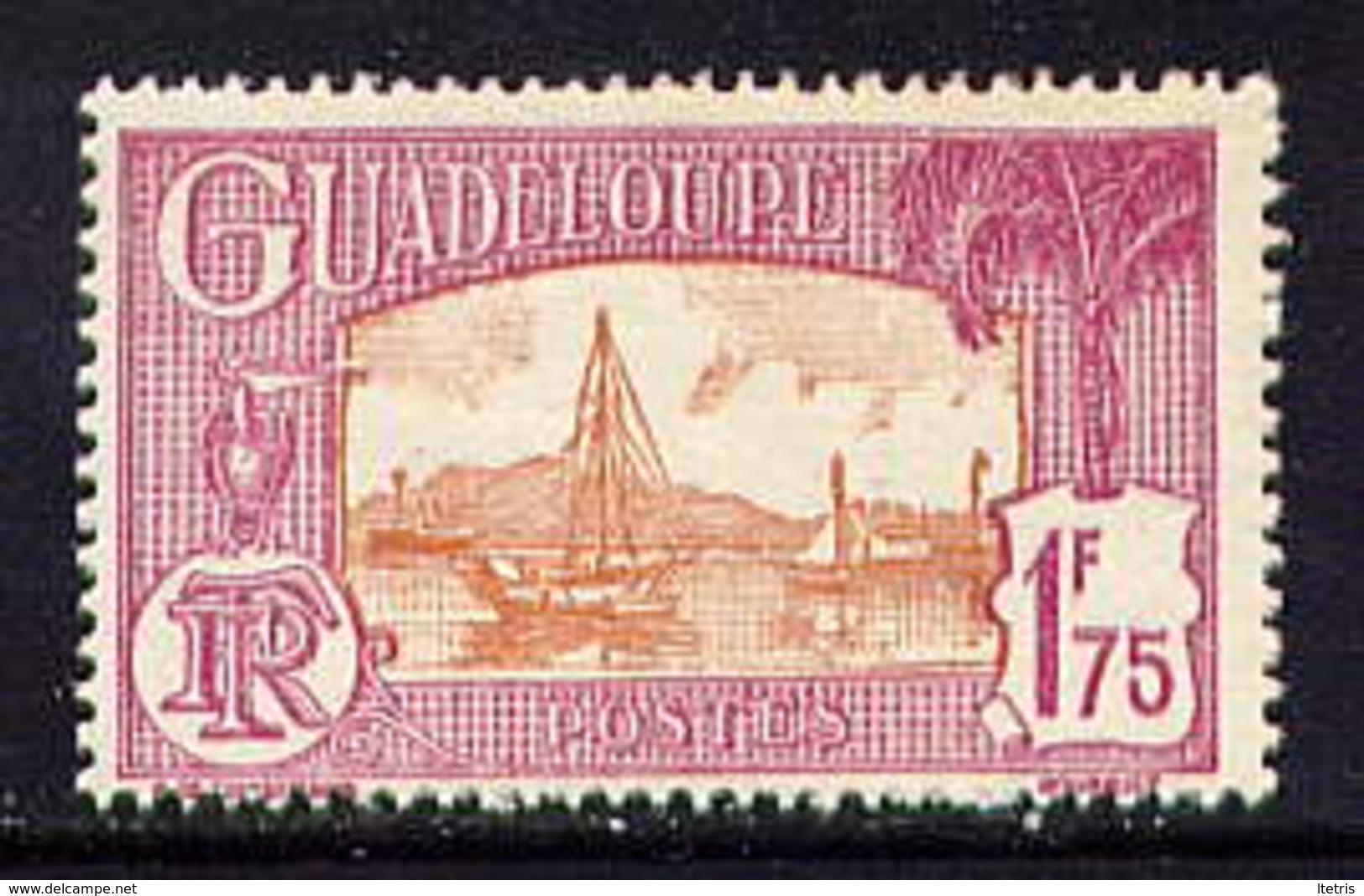 GDP - 117A** - PORT DE POINTE A PITRE - Guadalupe (1884-1947)
