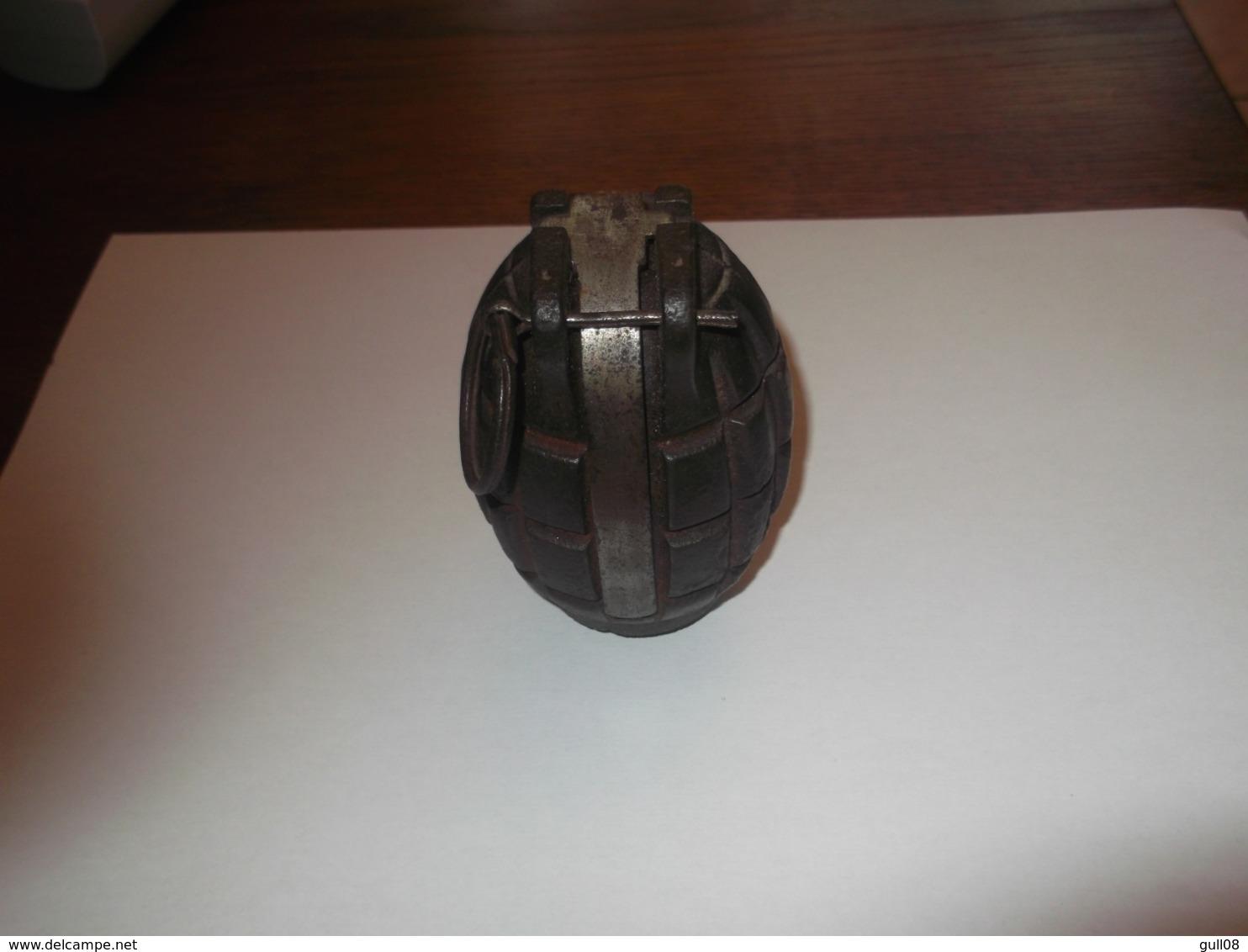 Grenade Anglaise Mills - Armes Neutralisées