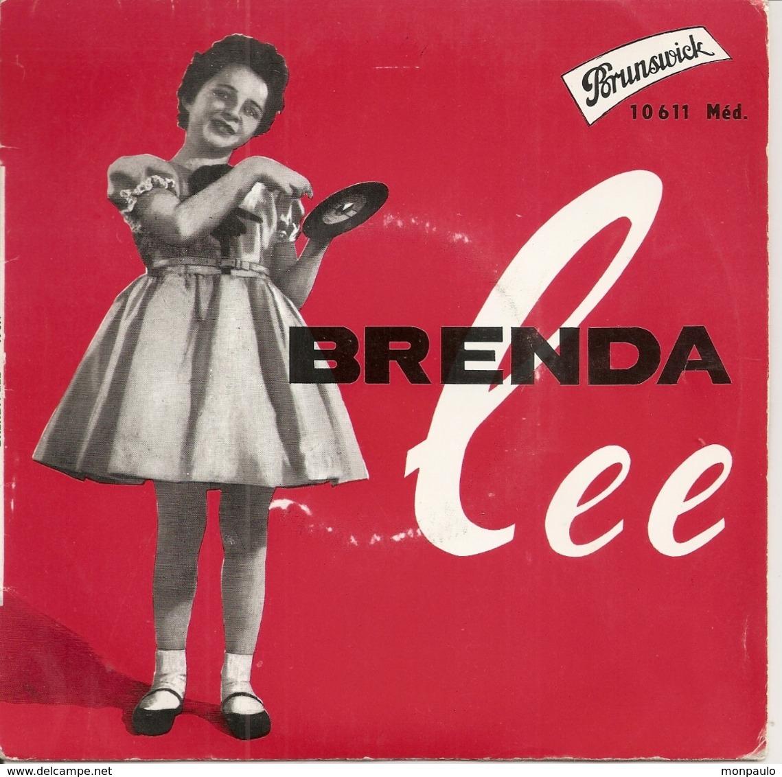 Vinyles. 45 T. Brenda Lee. Rock The Bop (4 Titres) Studio Brunswick - Rock