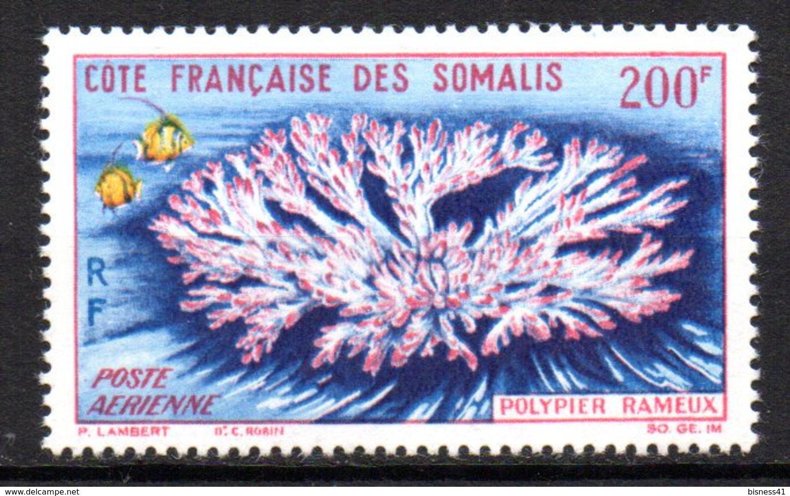 Col17  Colonie Cote Des Somalis PA N° 36  Neuf X MH  Cote 17,00€ - Neufs